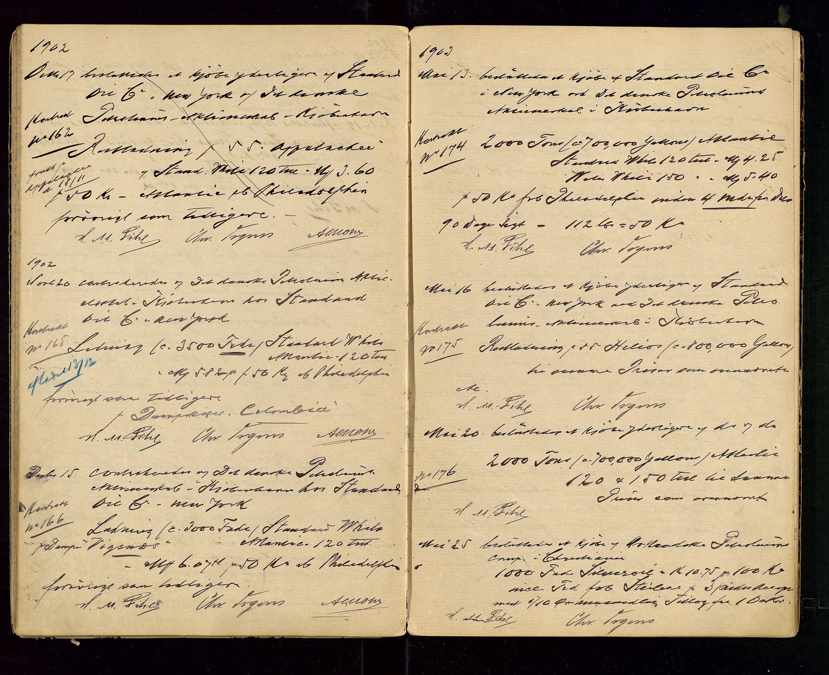 SAST, PA 1533 - A/S Vestlandske Petroleumscompani, A/Aa/L0001: Generalforsamlinger og styreprotokoller, 1890-1907, s. 46