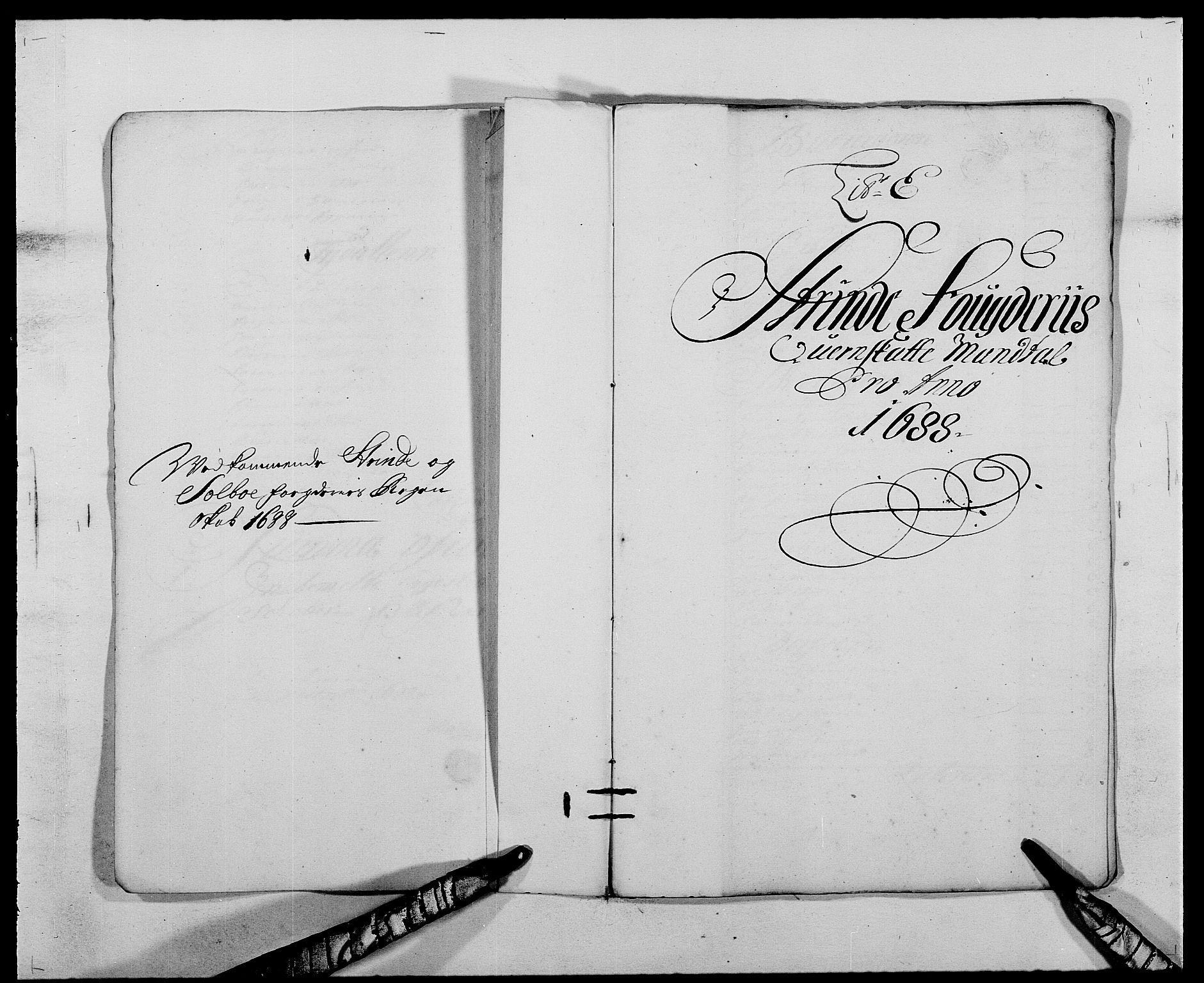 RA, Rentekammeret inntil 1814, Reviderte regnskaper, Fogderegnskap, R61/L4101: Fogderegnskap Strinda og Selbu, 1687-1688, s. 181
