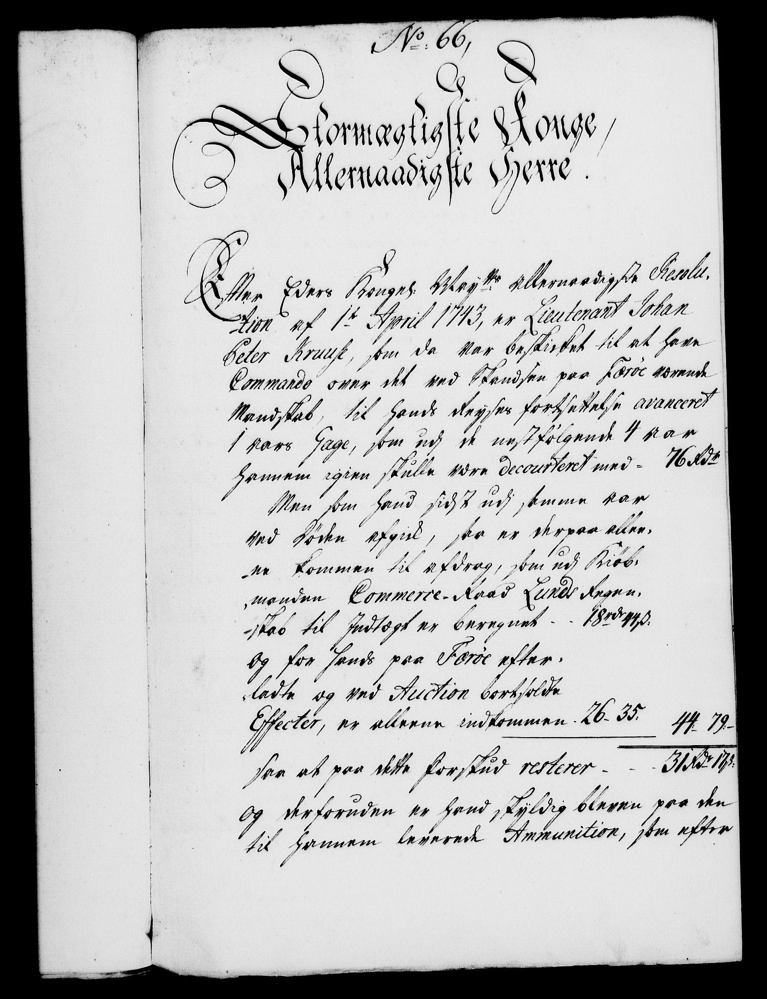 RA, Rentekammeret, Kammerkanselliet, G/Gf/Gfa/L0028: Norsk relasjons- og resolusjonsprotokoll (merket RK 52.28), 1745-1746, s. 385