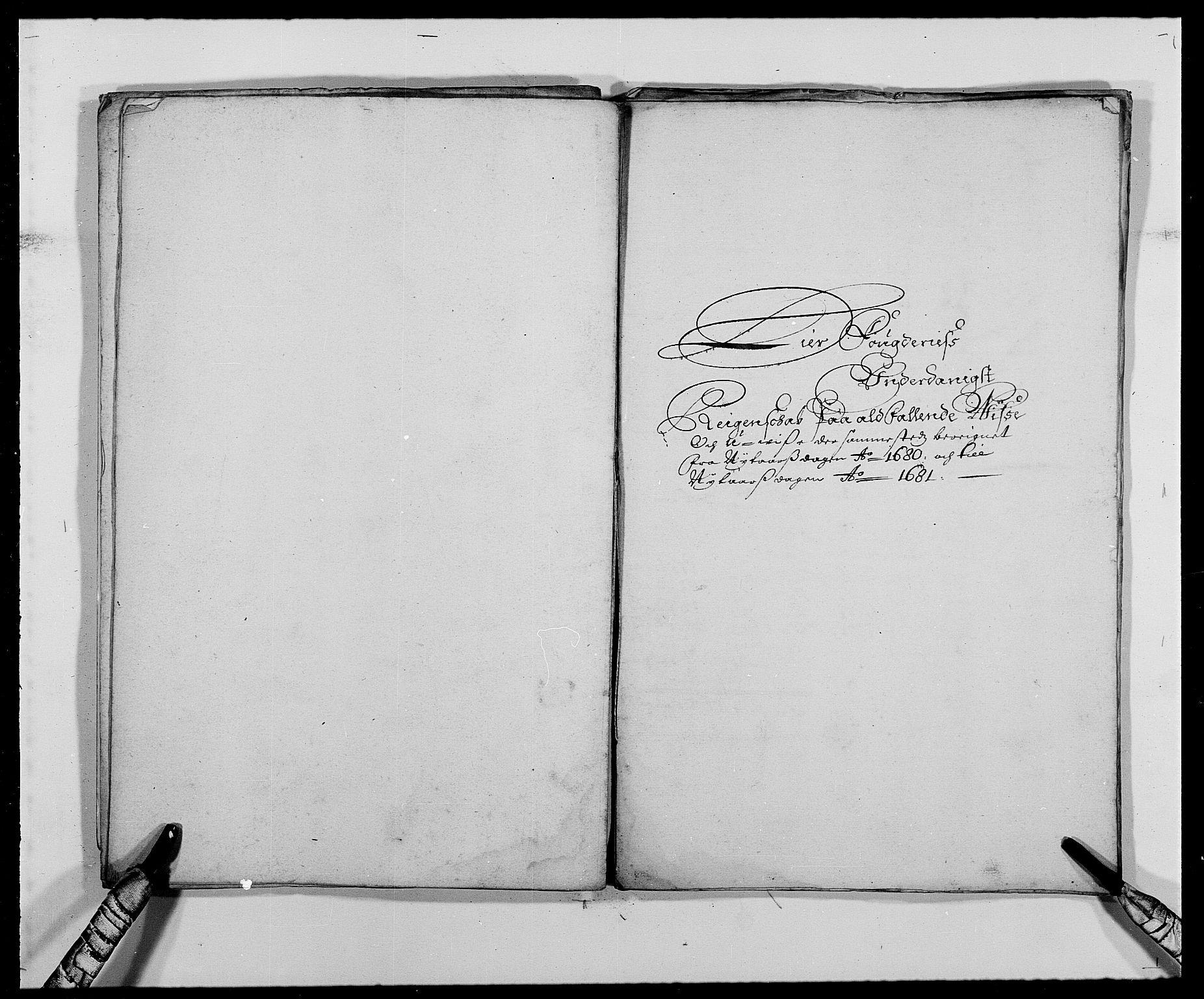 RA, Rentekammeret inntil 1814, Reviderte regnskaper, Fogderegnskap, R27/L1687: Fogderegnskap Lier, 1678-1686, s. 309