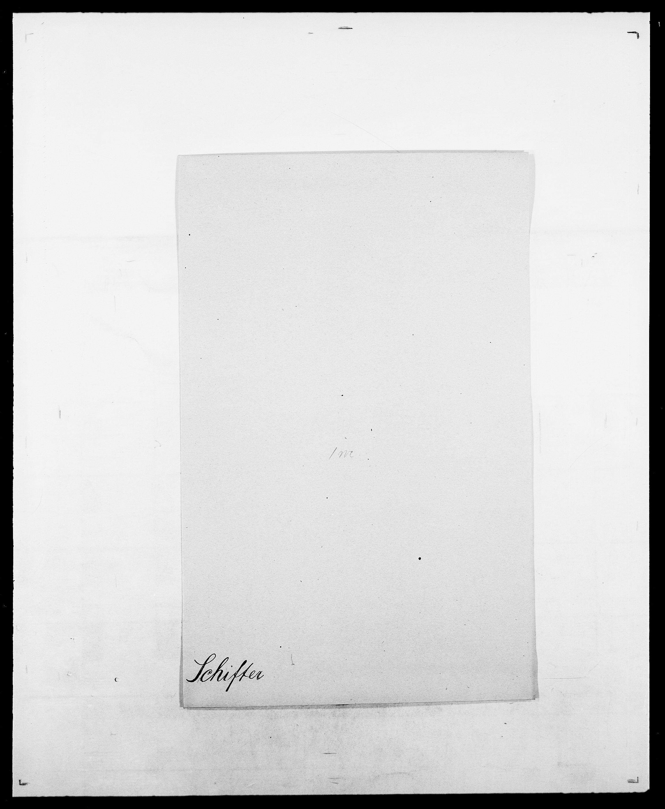 SAO, Delgobe, Charles Antoine - samling, D/Da/L0034: Saabye - Schmincke, s. 525
