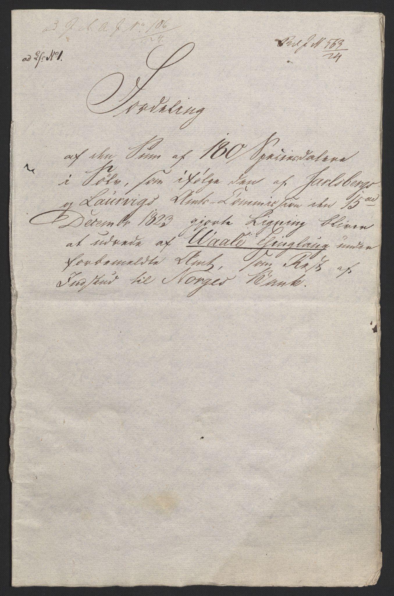 NOBA, Norges Bank/Sølvskatten 1816*, 1816-1824, s. 29