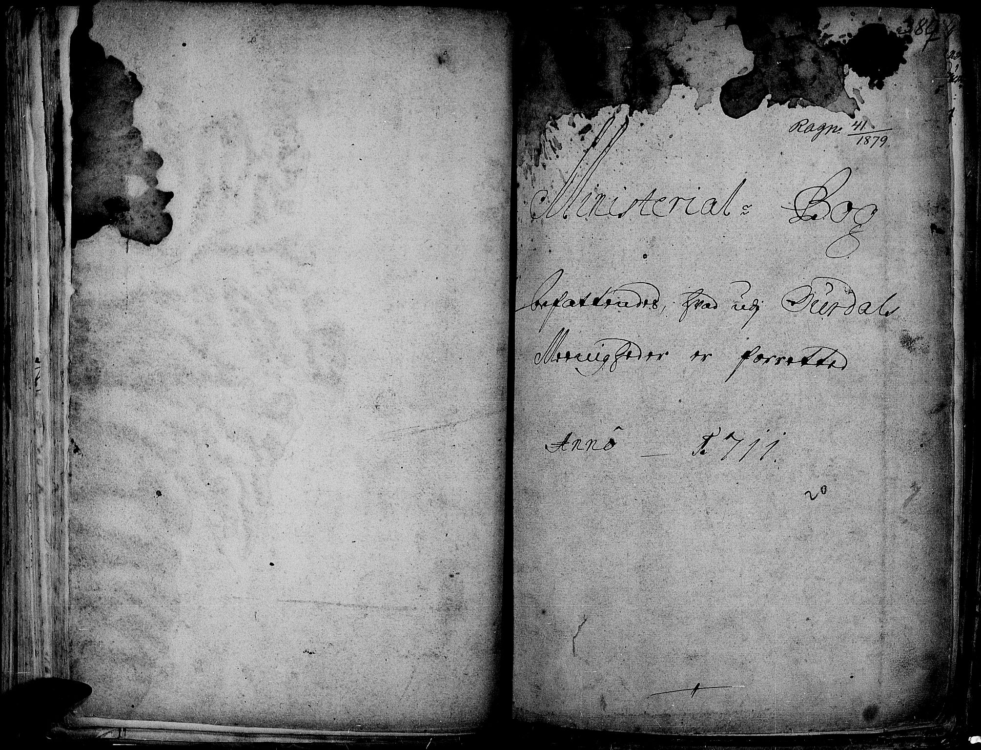SAH, Aurdal prestekontor, Ministerialbok nr. 1-3, 1692-1730, s. 387