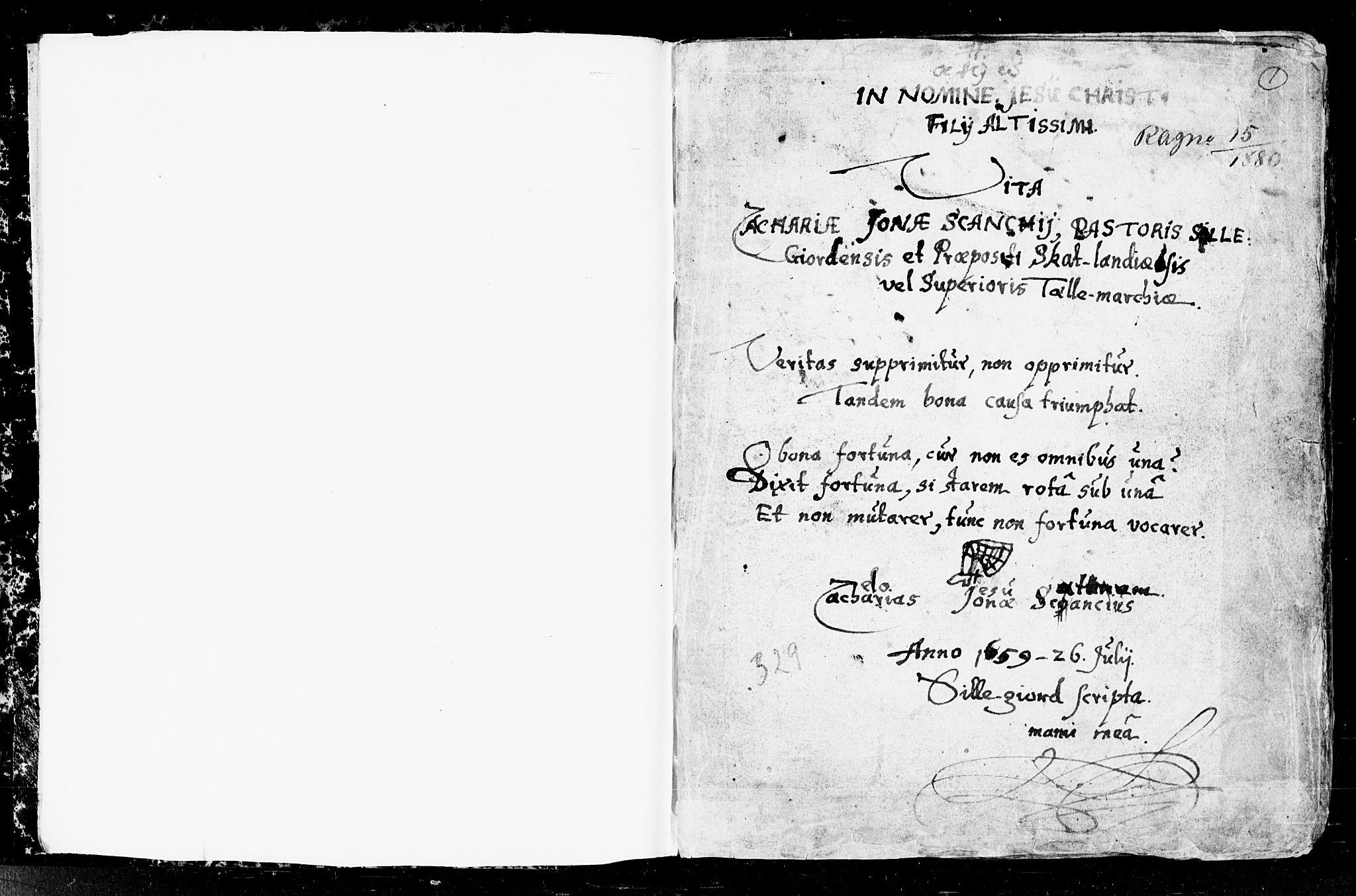 SAKO, Seljord kirkebøker, F/Fa/L0001: Ministerialbok nr. I 1, 1654-1686, s. 1