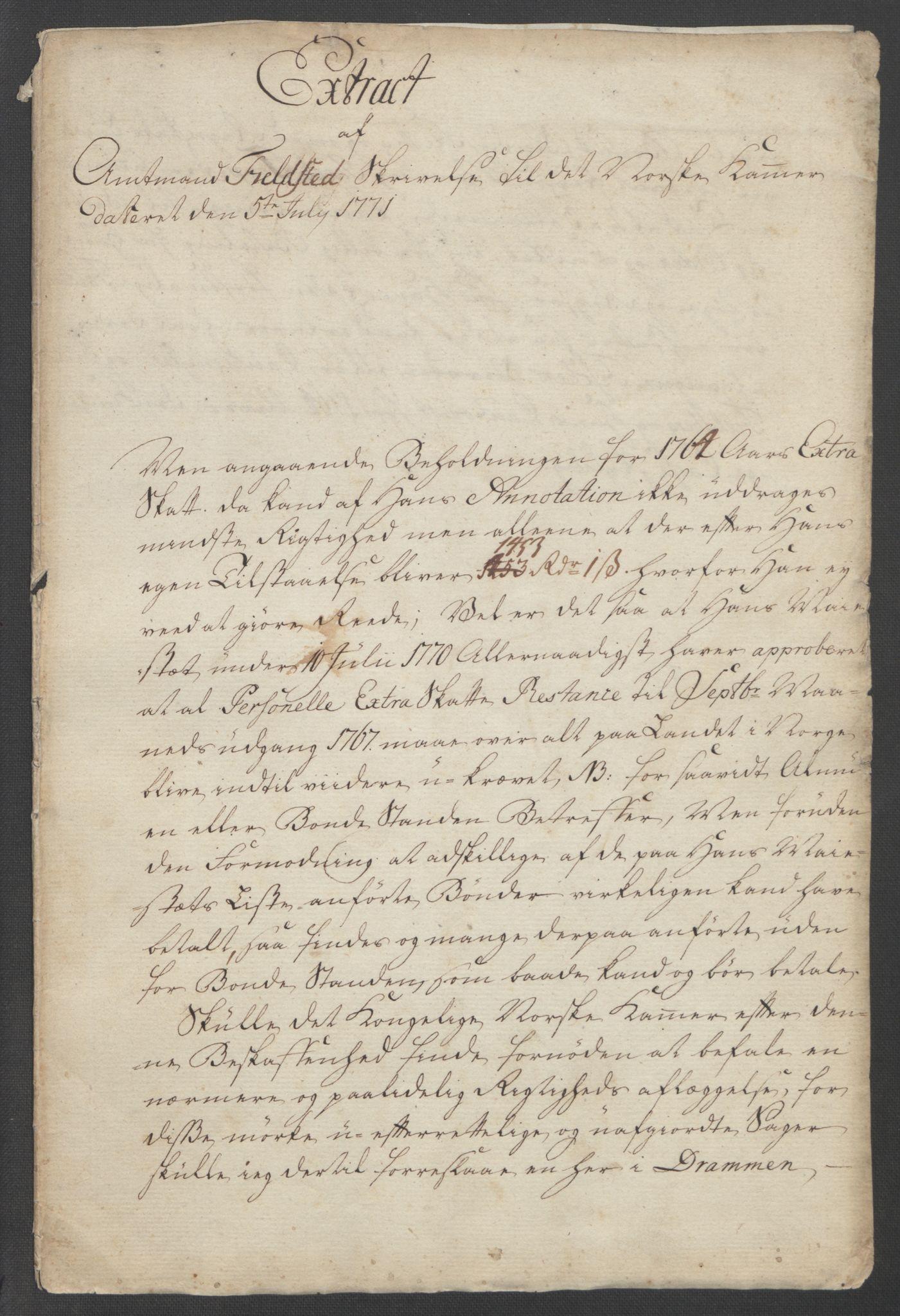 RA, Rentekammeret inntil 1814, Reviderte regnskaper, Fogderegnskap, R31/L1833: Ekstraskatten Hurum, Røyken, Eiker, Lier og Buskerud, 1762-1764, s. 295