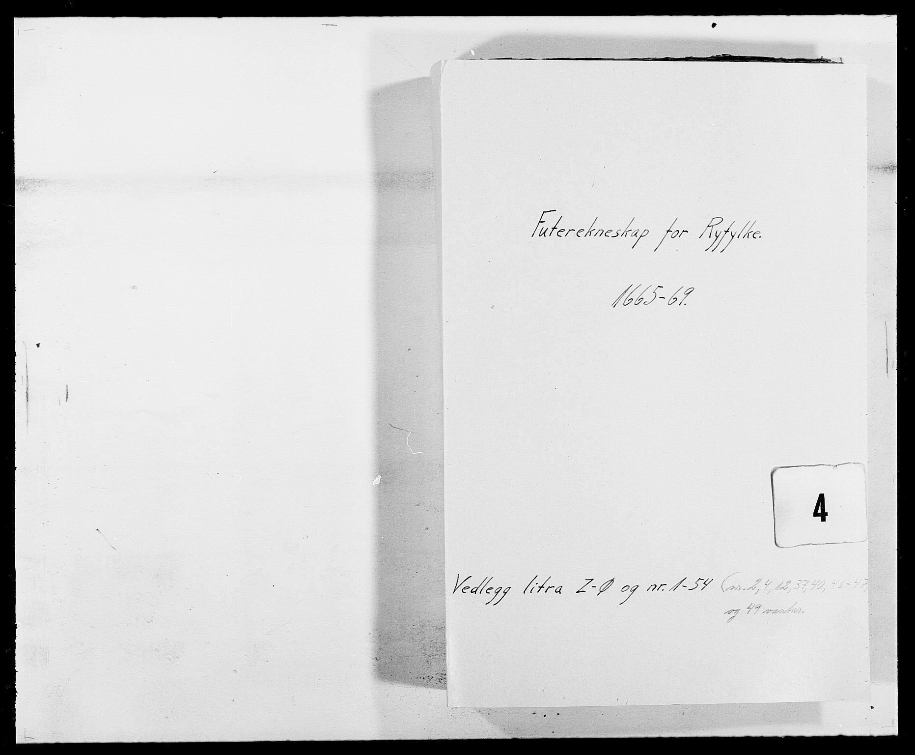 RA, Rentekammeret inntil 1814, Reviderte regnskaper, Fogderegnskap, R47/L2842: Fogderegnskap Ryfylke, 1665-1669, s. 212