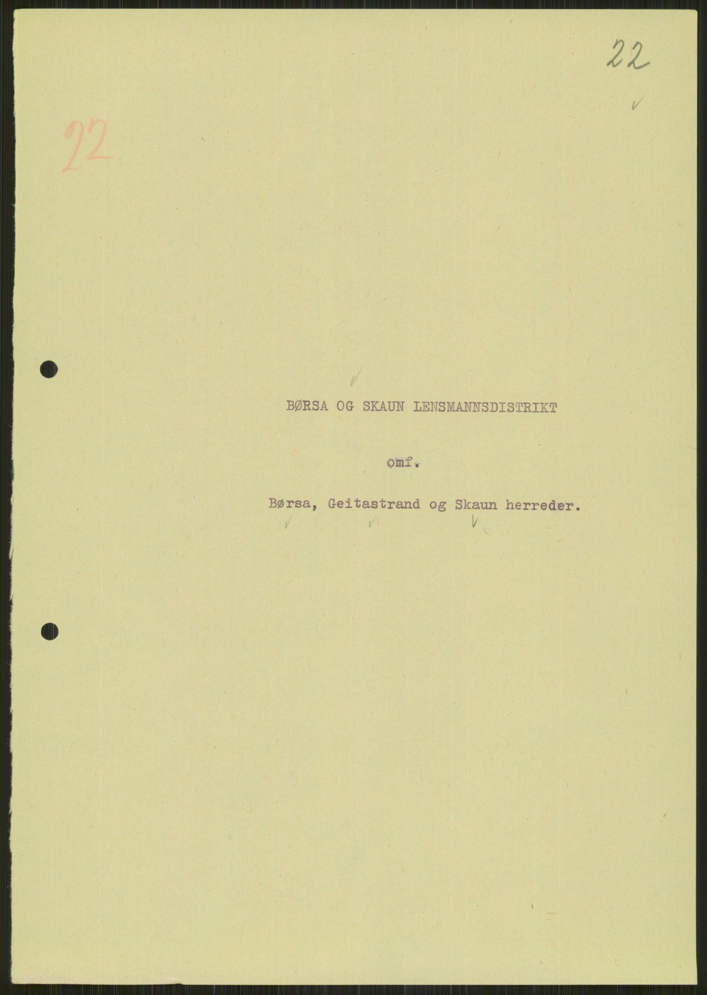 RA, Forsvaret, Forsvarets krigshistoriske avdeling, Y/Ya/L0016: II-C-11-31 - Fylkesmenn.  Rapporter om krigsbegivenhetene 1940., 1940, s. 173