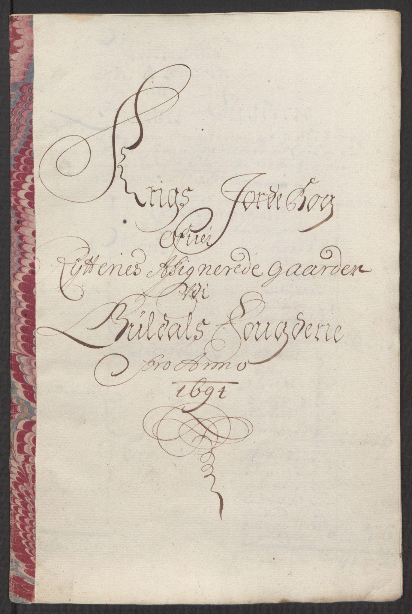 RA, Rentekammeret inntil 1814, Reviderte regnskaper, Fogderegnskap, R60/L3944: Fogderegnskap Orkdal og Gauldal, 1694, s. 418