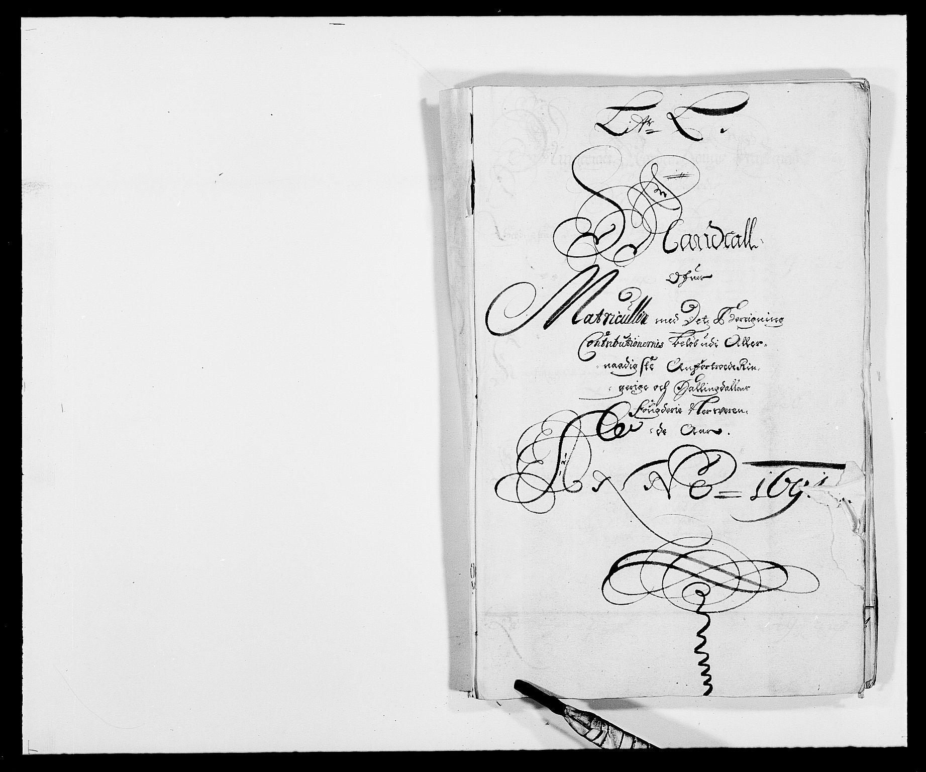 RA, Rentekammeret inntil 1814, Reviderte regnskaper, Fogderegnskap, R21/L1448: Fogderegnskap Ringerike og Hallingdal, 1690-1692, s. 175