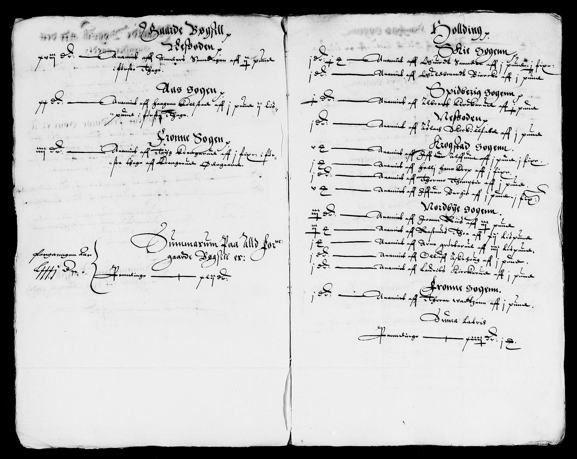 RA, Rentekammeret inntil 1814, Reviderte regnskaper, Lensregnskaper, R/Rb/Rba/L0033: Akershus len, 1613-1614