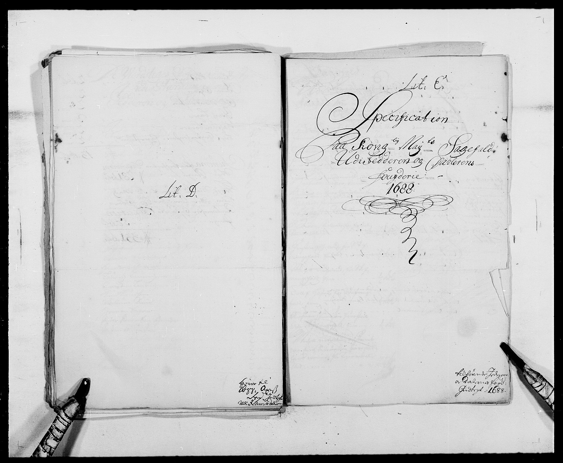 RA, Rentekammeret inntil 1814, Reviderte regnskaper, Fogderegnskap, R46/L2726: Fogderegnskap Jæren og Dalane, 1686-1689, s. 279