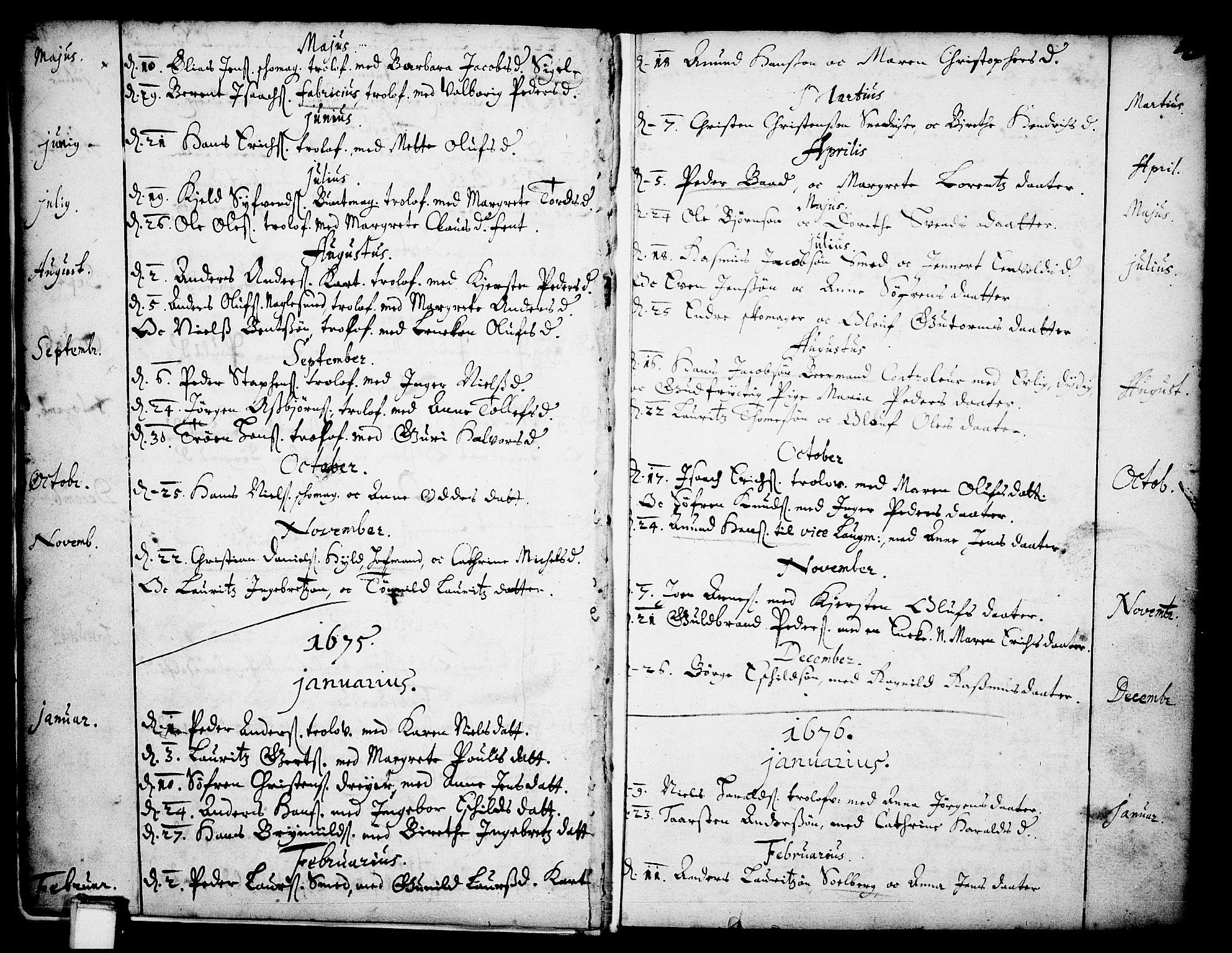 SAKO, Skien kirkebøker, F/Fa/L0001: Ministerialbok nr. 1, 1659-1679, s. 13