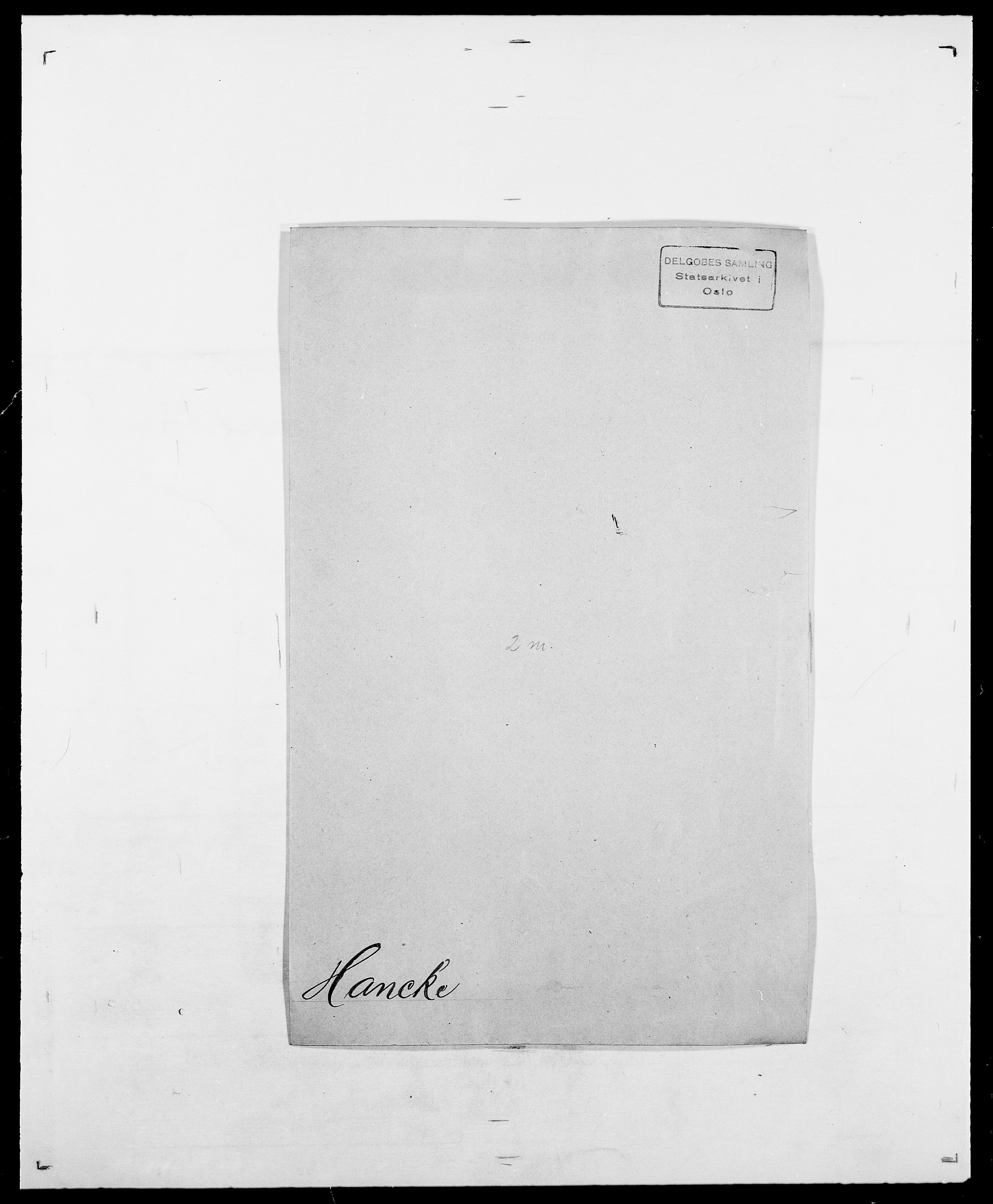 SAO, Delgobe, Charles Antoine - samling, D/Da/L0016: Hamborg - Hektoen, s. 98