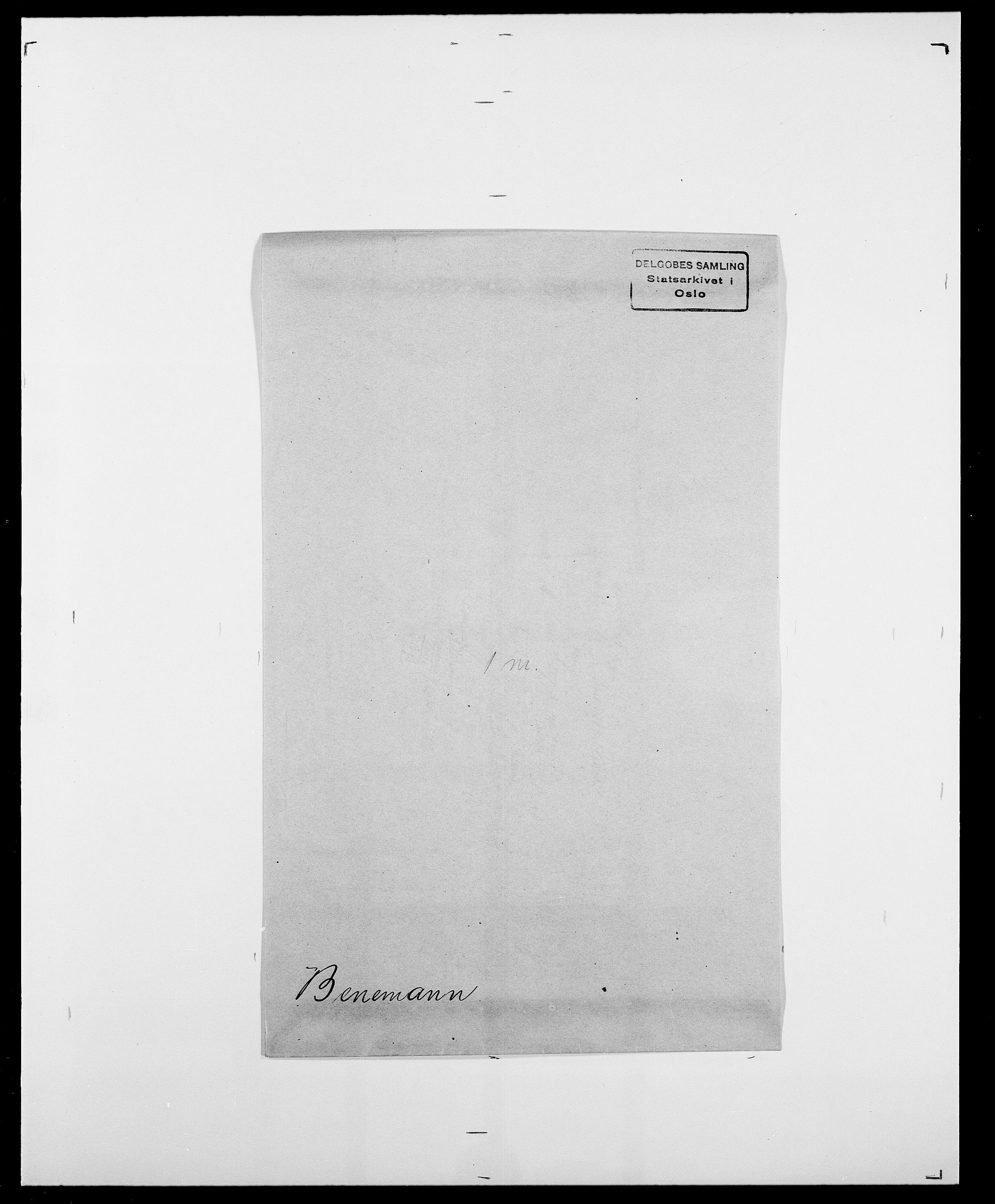 SAO, Delgobe, Charles Antoine - samling, D/Da/L0003: Barca - Bergen, s. 759