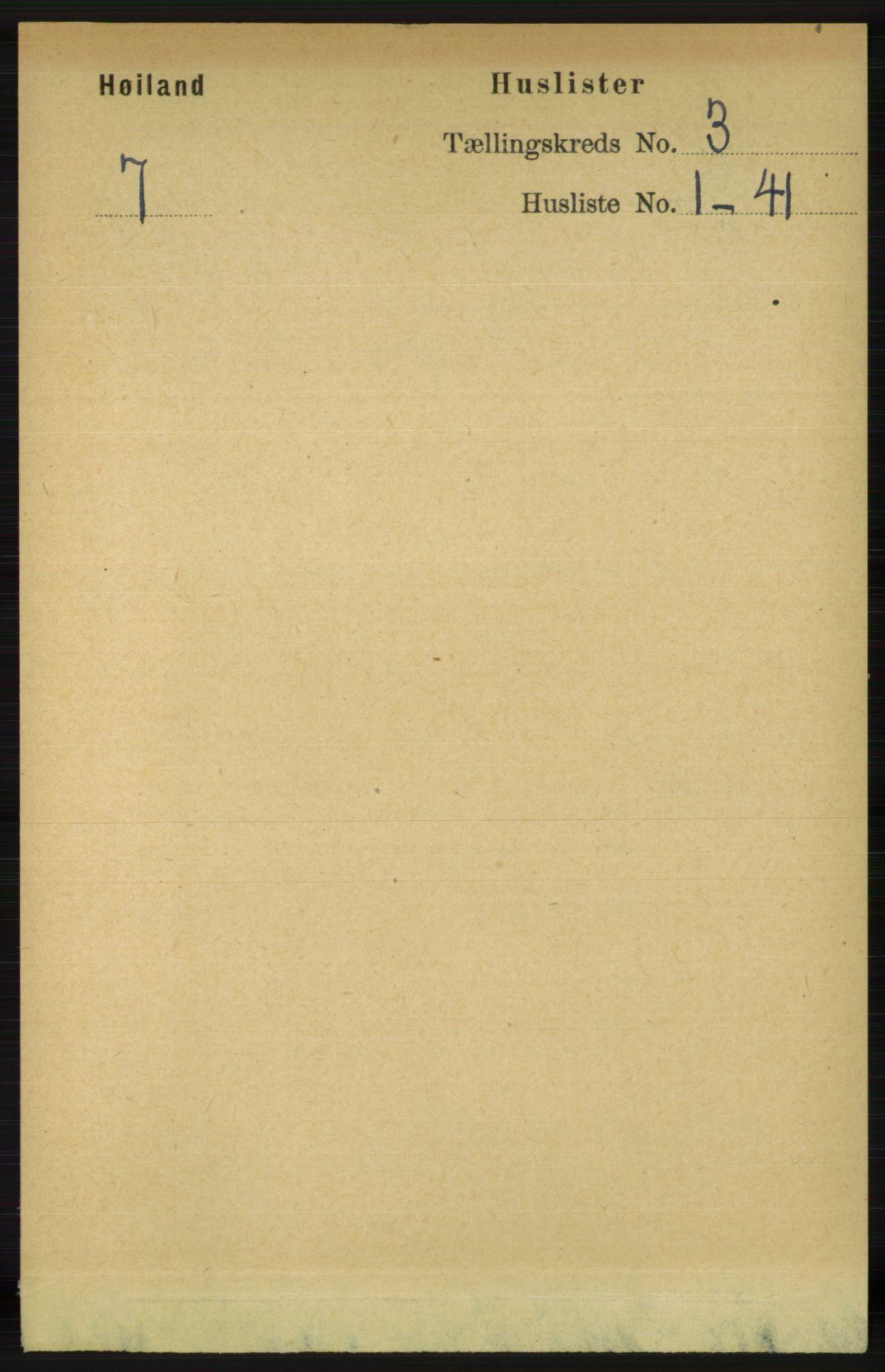 RA, Folketelling 1891 for 1123 Høyland herred, 1891, s. 624