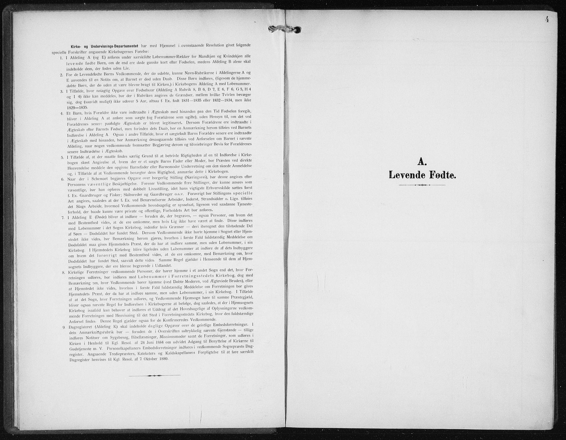 SAB, Den Norske Sjømannsmisjon i utlandet*, Ministerialbok nr. A 6, 1909-1914, s. 4