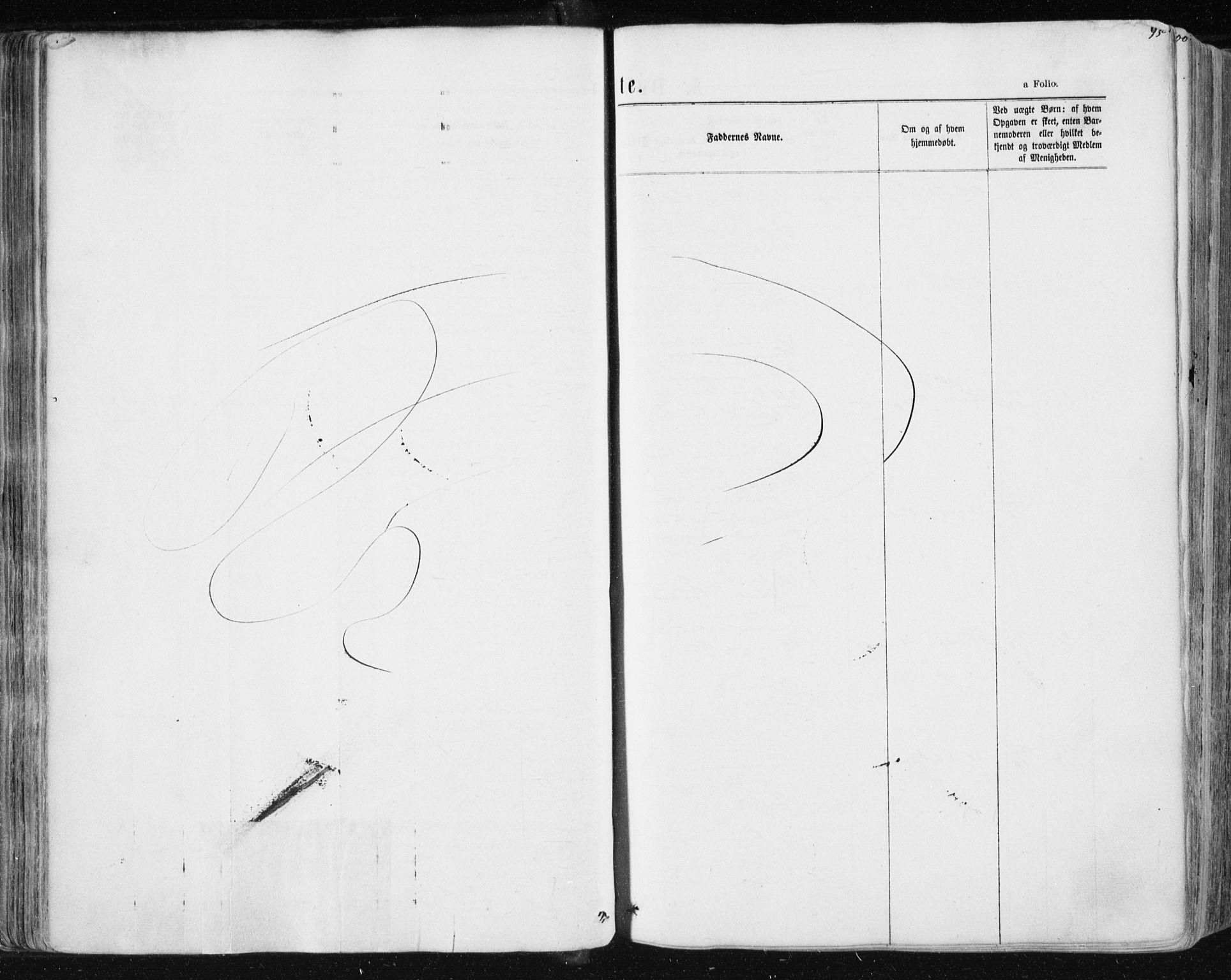SAT, Ministerialprotokoller, klokkerbøker og fødselsregistre - Sør-Trøndelag, 604/L0186: Ministerialbok nr. 604A07, 1866-1877, s. 95