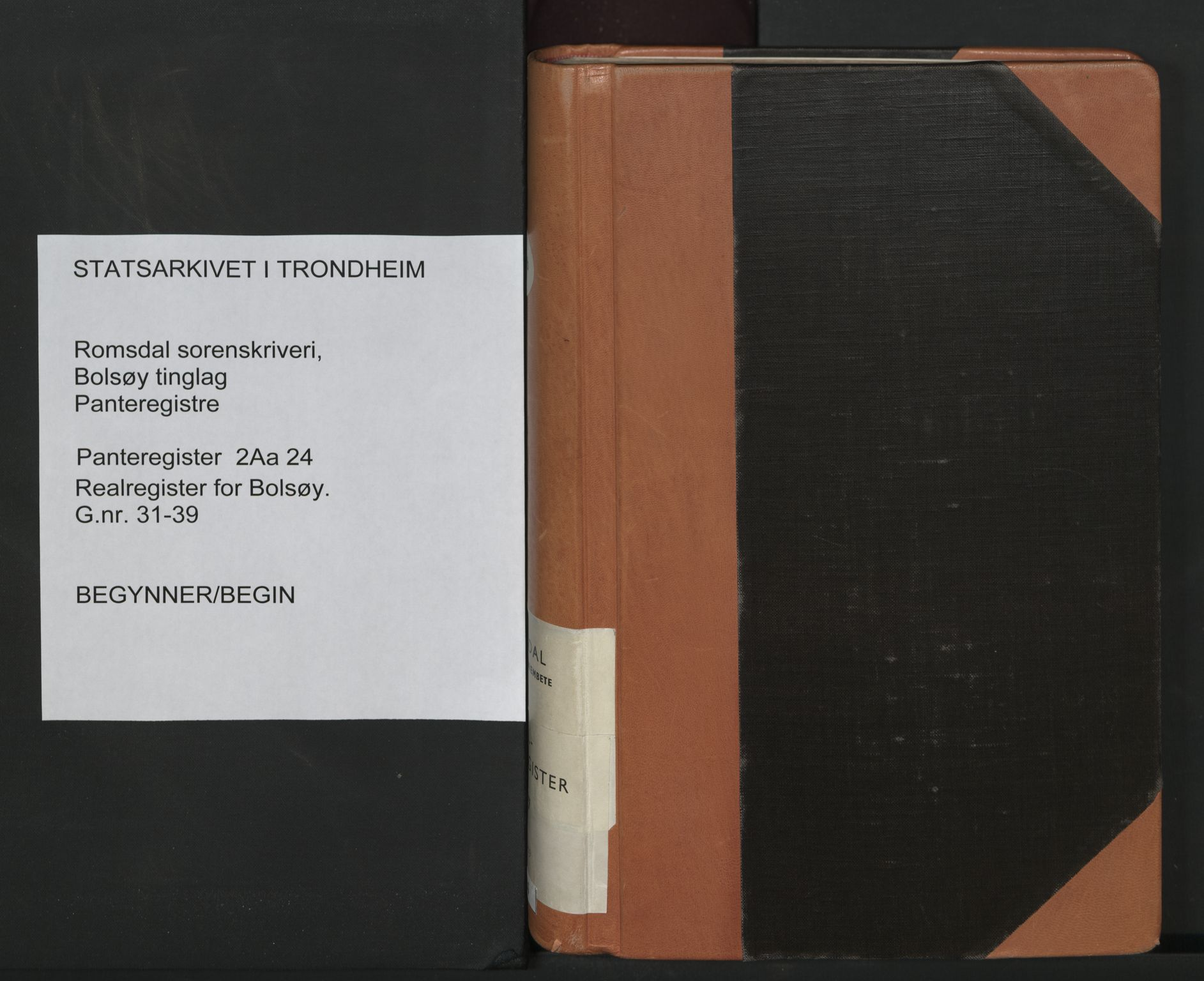 SAT, Romsdal sorenskriveri, 2/2Aa/L0024: Panteregister nr. 24