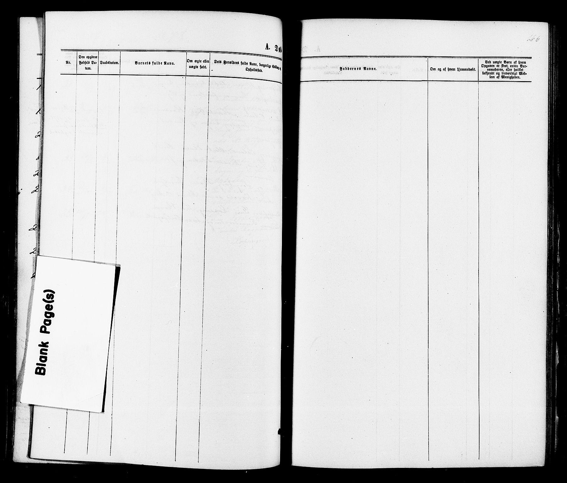 SAKO, Sigdal kirkebøker, F/Fa/L0010: Ministerialbok nr. I 10 /3, 1872-1878, s. 166