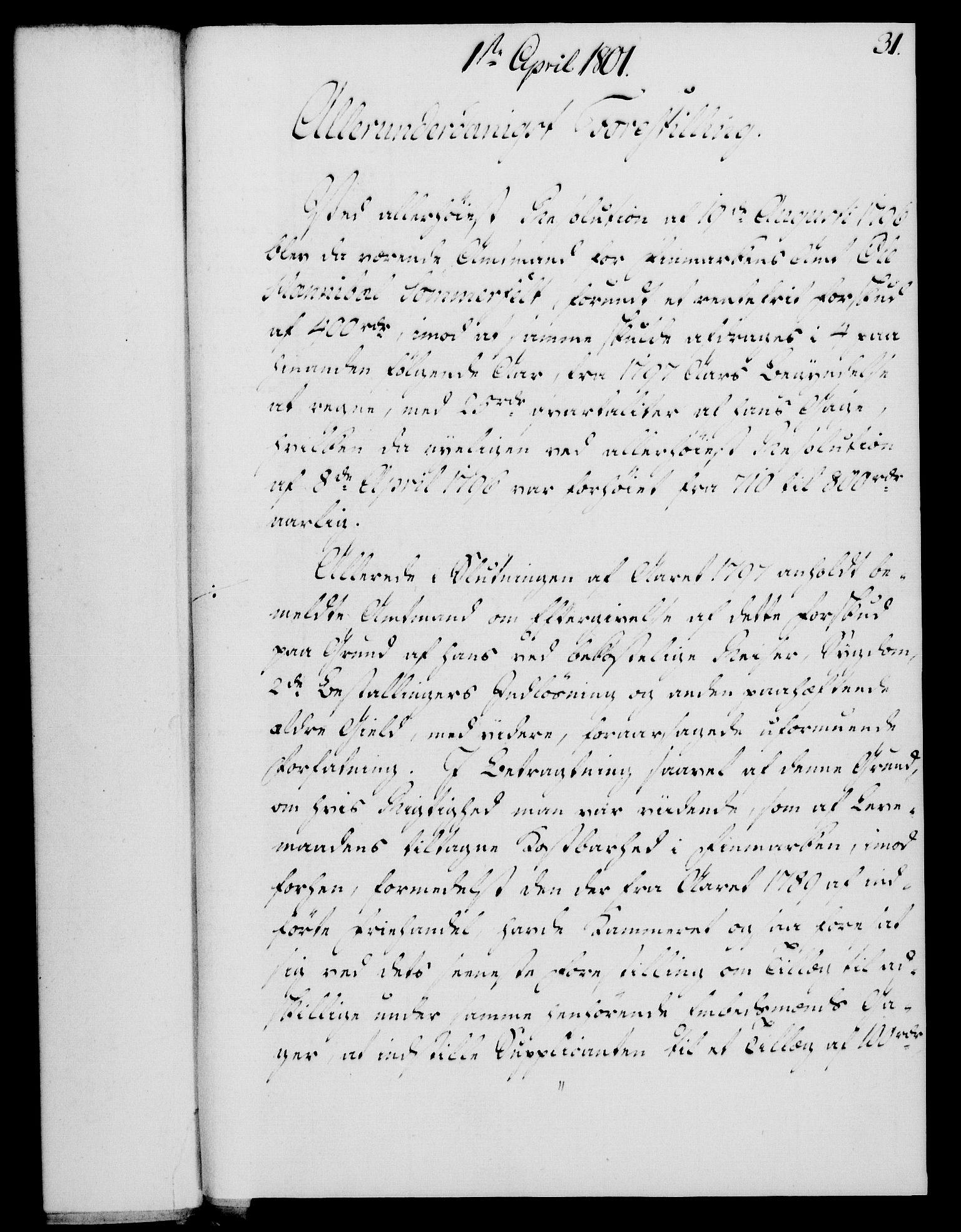 RA, Rentekammeret, Kammerkanselliet, G/Gf/Gfa/L0083: Norsk relasjons- og resolusjonsprotokoll (merket RK 52.83), 1801, s. 220