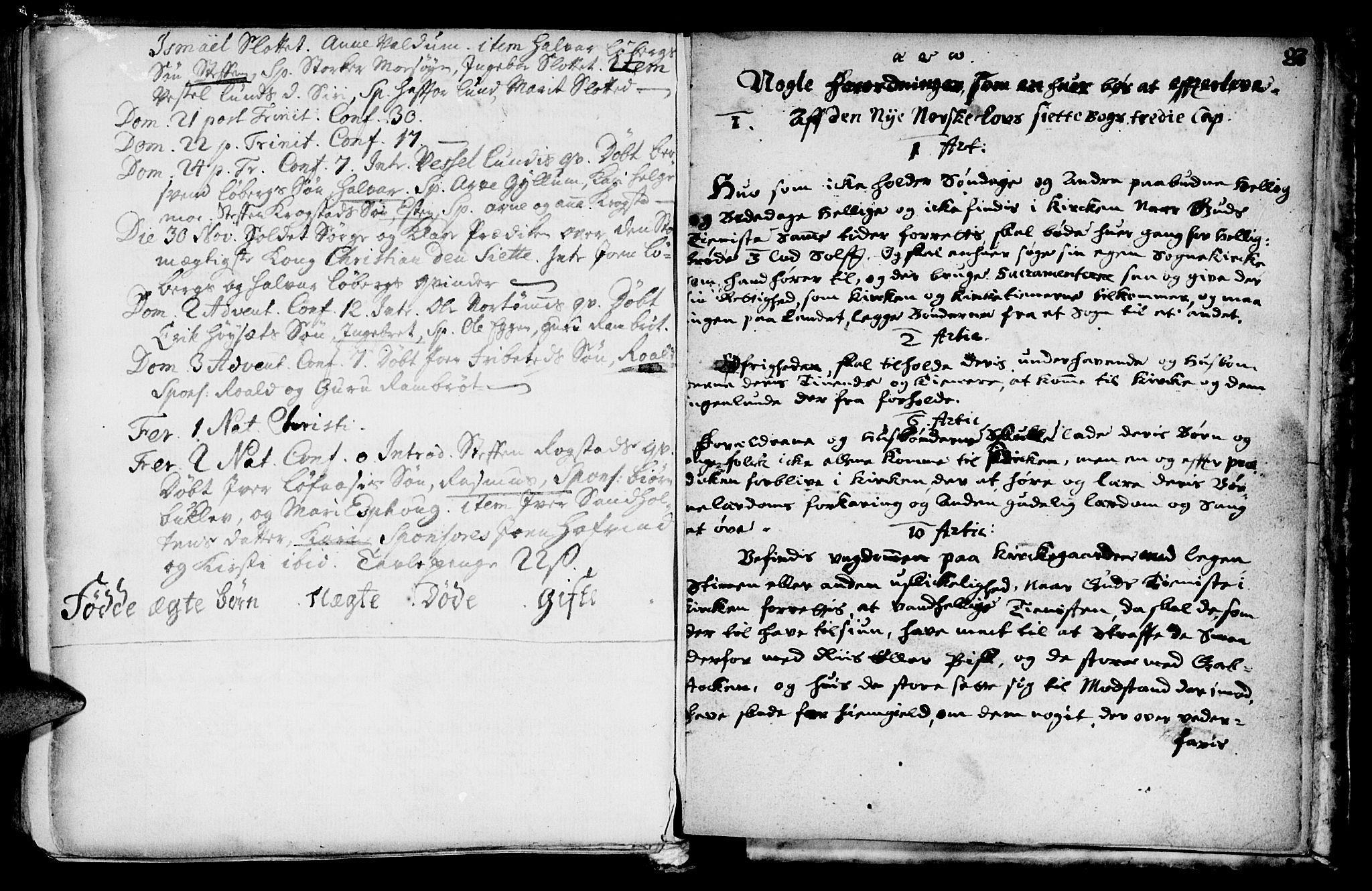 SAT, Ministerialprotokoller, klokkerbøker og fødselsregistre - Sør-Trøndelag, 692/L1101: Ministerialbok nr. 692A01, 1690-1746, s. 133