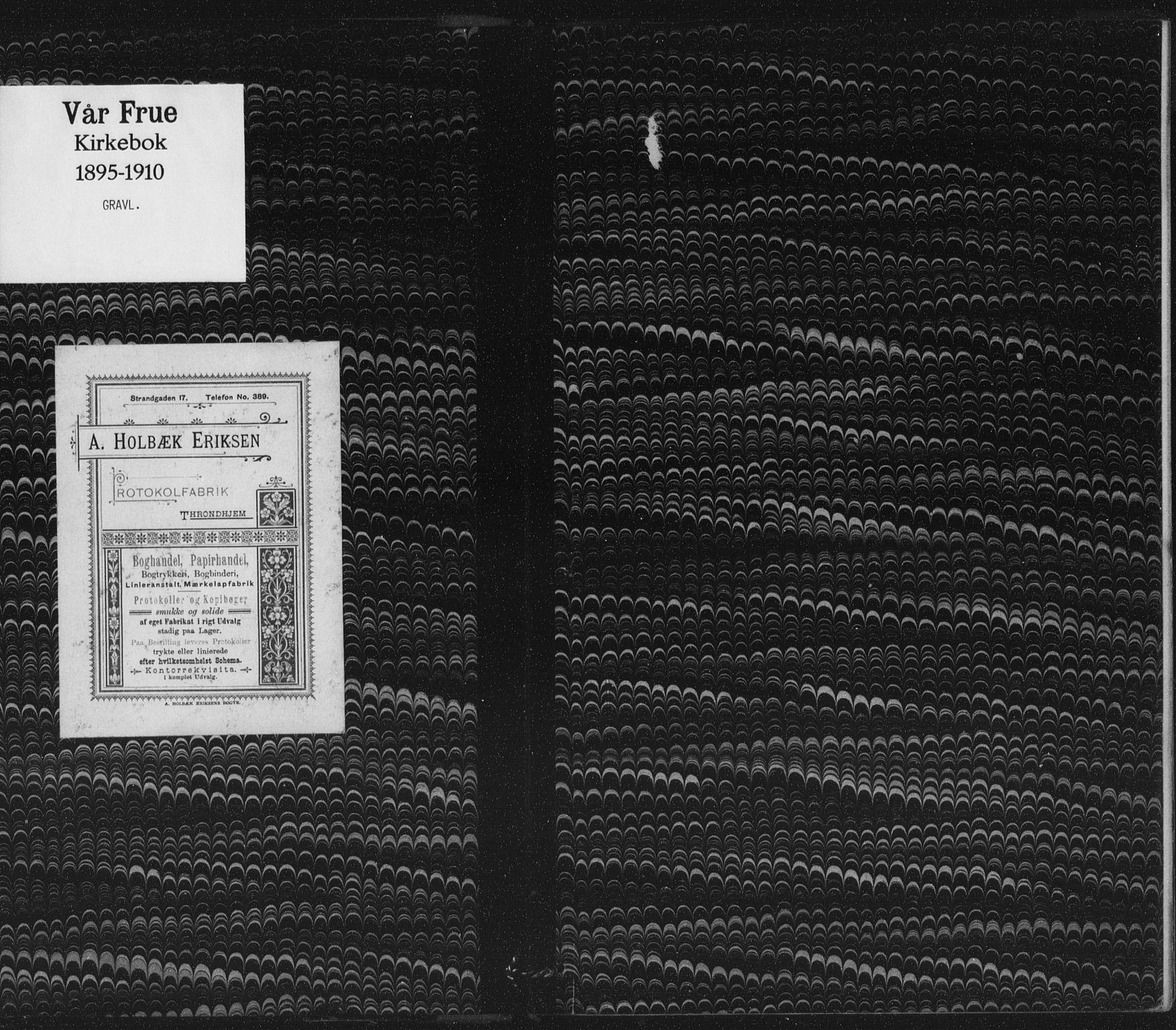 SAT, Ministerialprotokoller, klokkerbøker og fødselsregistre - Sør-Trøndelag, 602/L0123: Ministerialbok nr. 602A21, 1895-1910