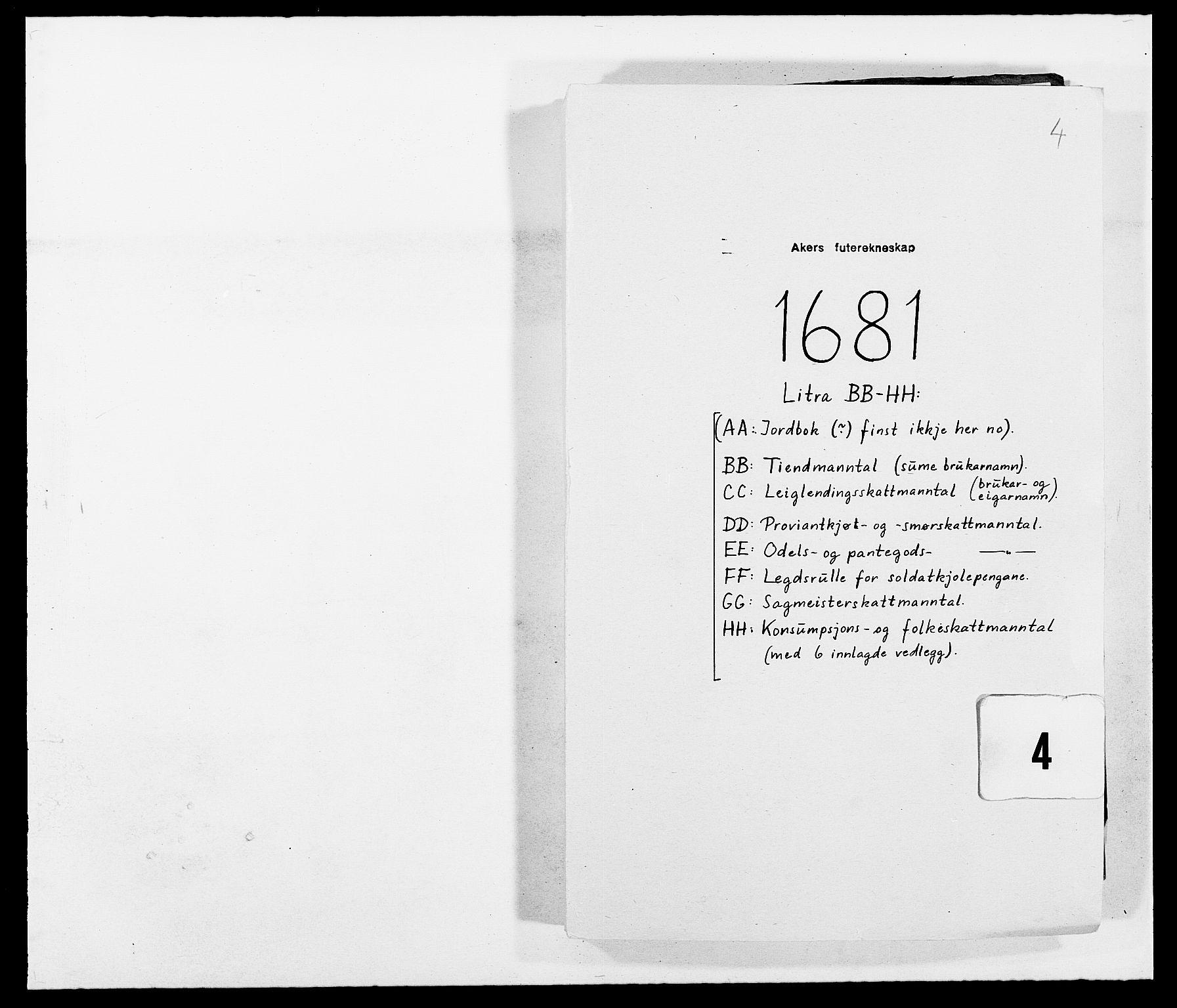 RA, Rentekammeret inntil 1814, Reviderte regnskaper, Fogderegnskap, R08/L0417: Fogderegnskap Aker, 1678-1681, s. 176