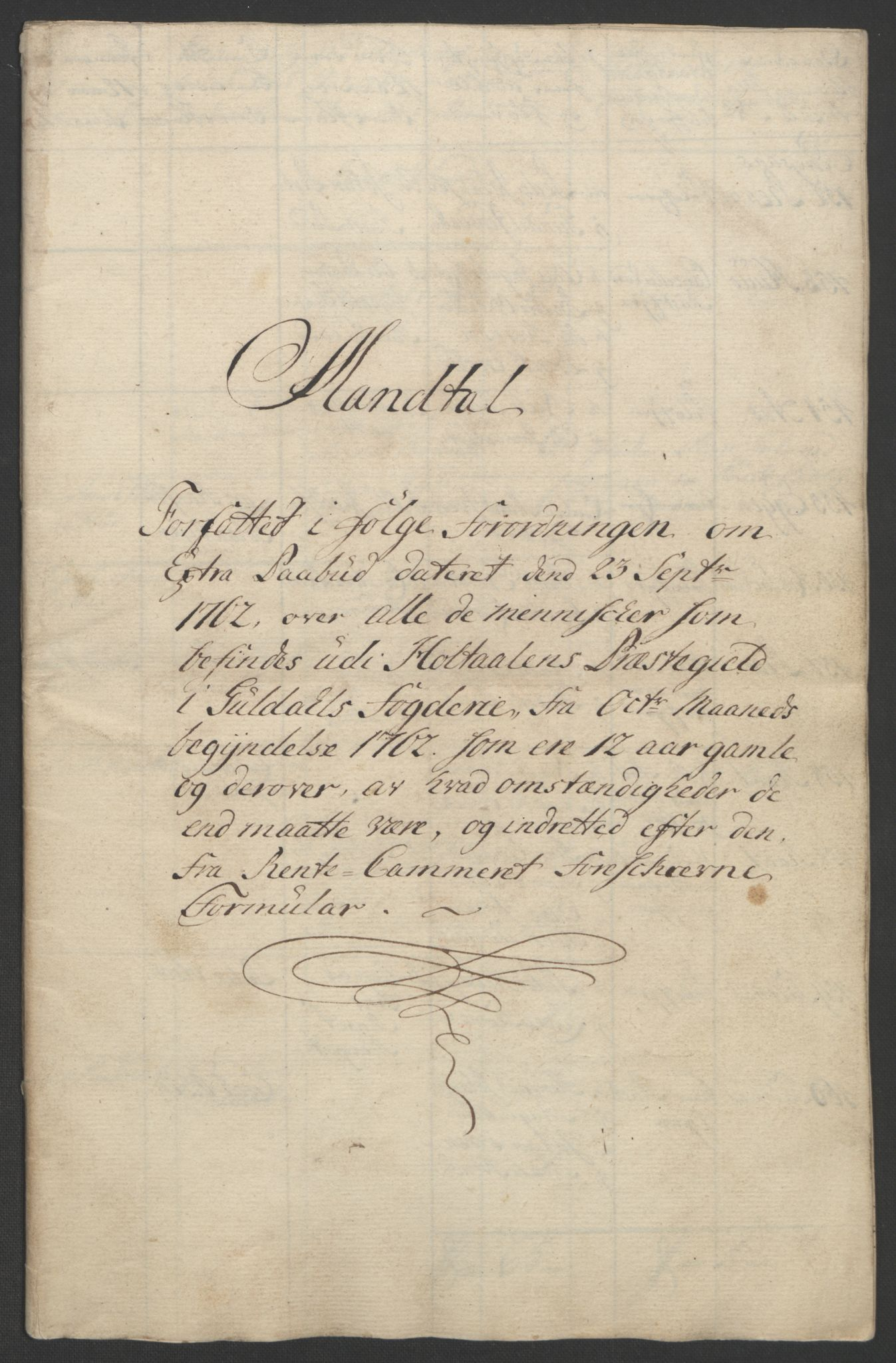 RA, Rentekammeret inntil 1814, Realistisk ordnet avdeling, Ol/L0021: [Gg 10]: Ekstraskatten, 23.09.1762. Orkdal og Gauldal, 1762-1767, s. 143