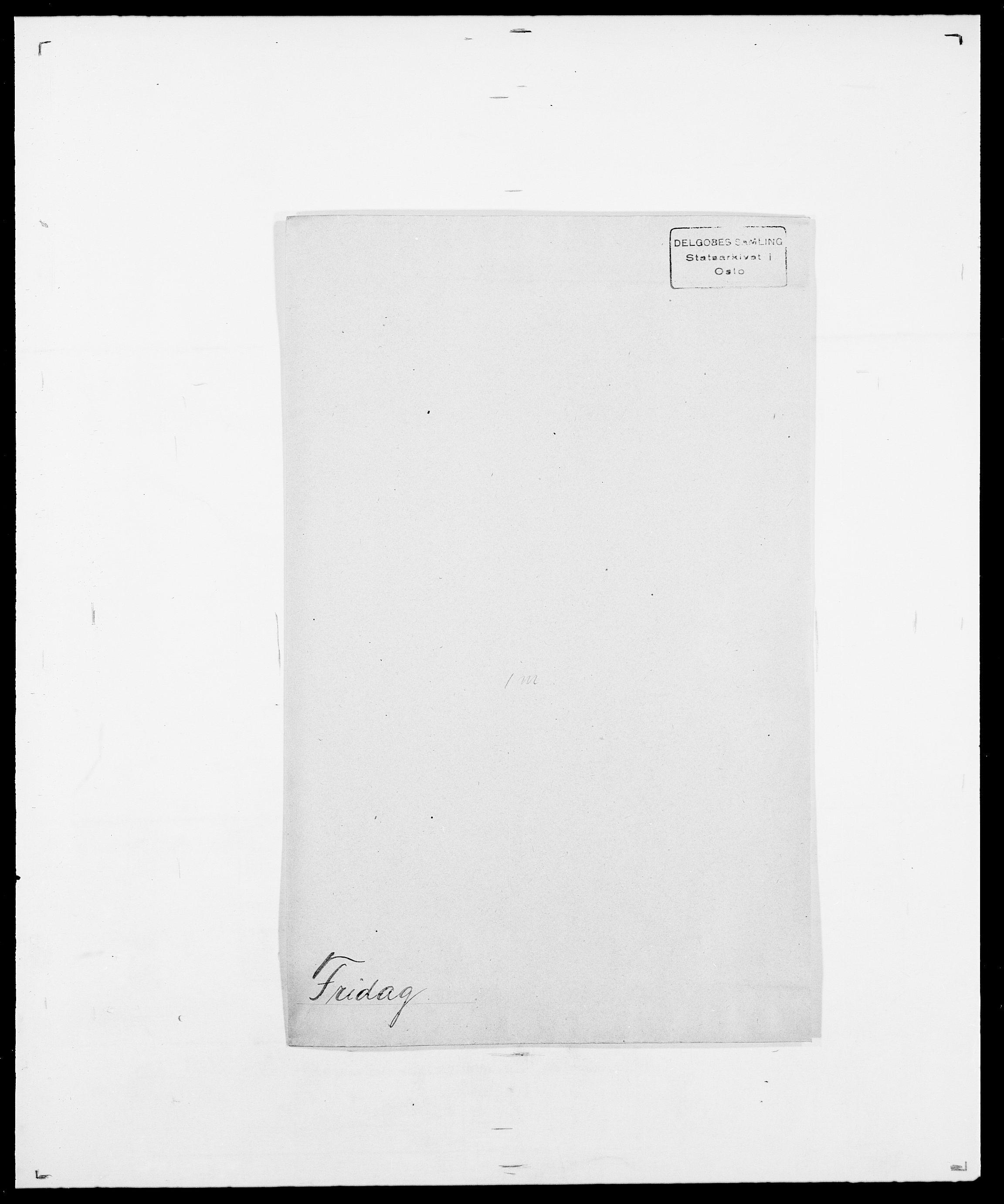 SAO, Delgobe, Charles Antoine - samling, D/Da/L0012: Flor, Floer, Flohr - Fritzner, s. 894