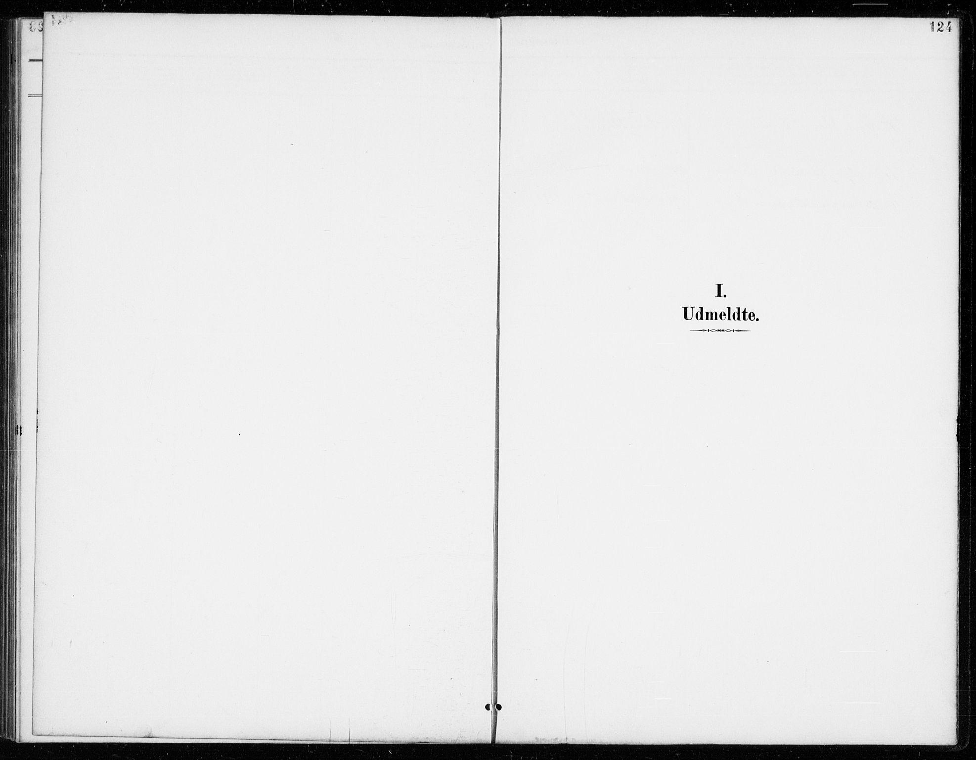 SAKO, Vinje kirkebøker, G/Gb/L0003: Klokkerbok nr. II 3, 1892-1943, s. 124