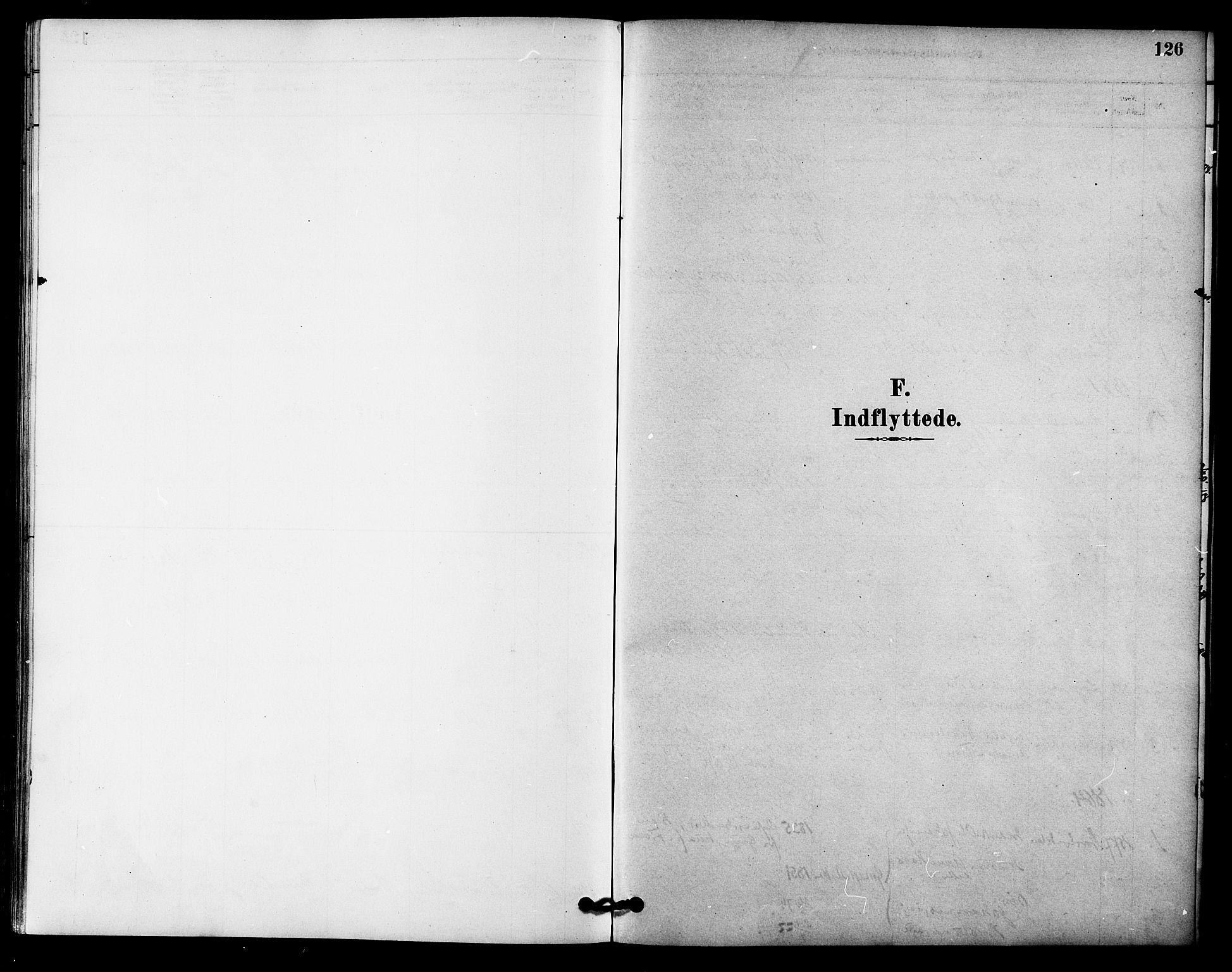 SAT, Ministerialprotokoller, klokkerbøker og fødselsregistre - Sør-Trøndelag, 618/L0444: Ministerialbok nr. 618A07, 1880-1898, s. 126