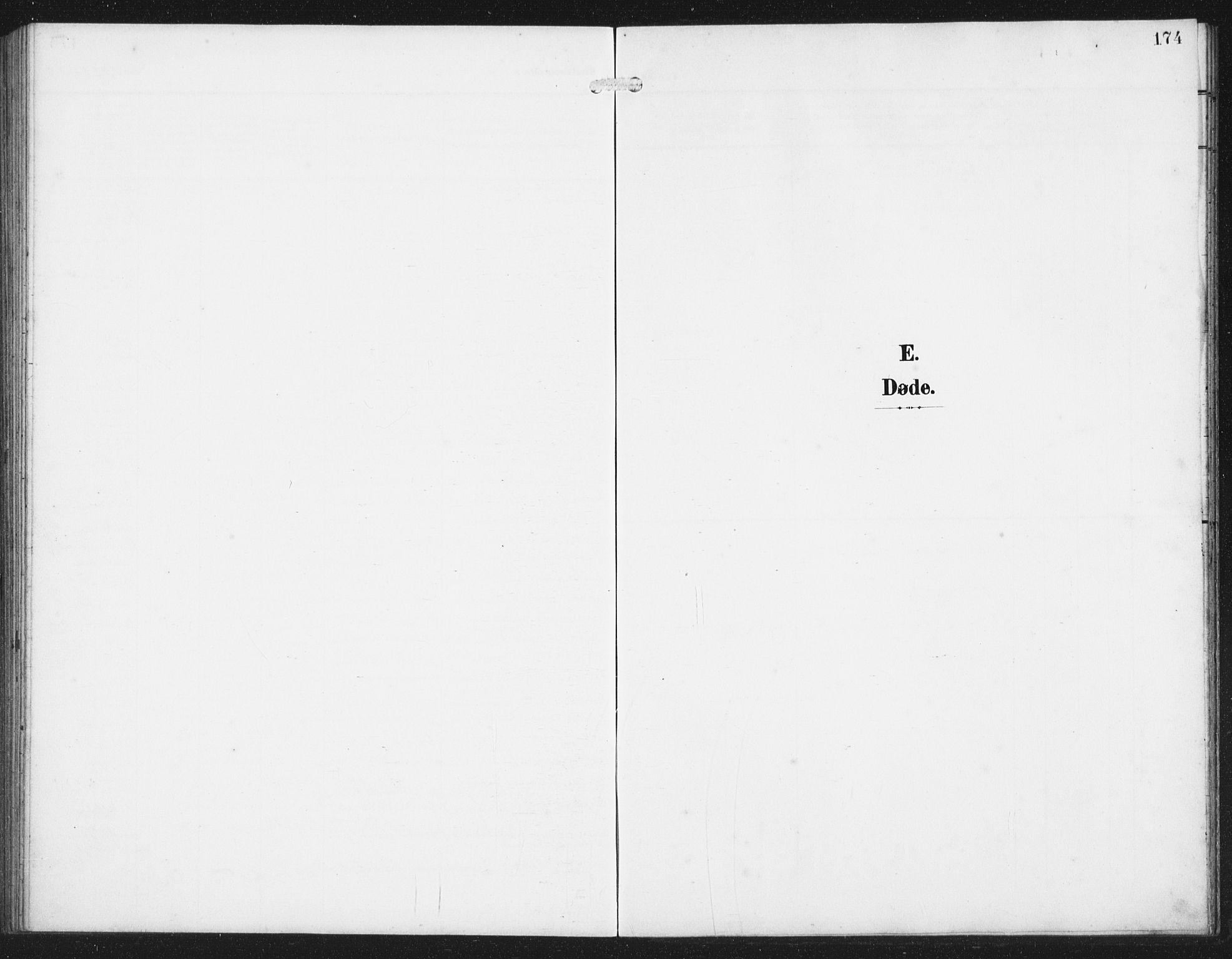 SAST, Skudenes sokneprestkontor, H/Ha/Hab/L0011: Klokkerbok nr. B 11, 1909-1943, s. 174