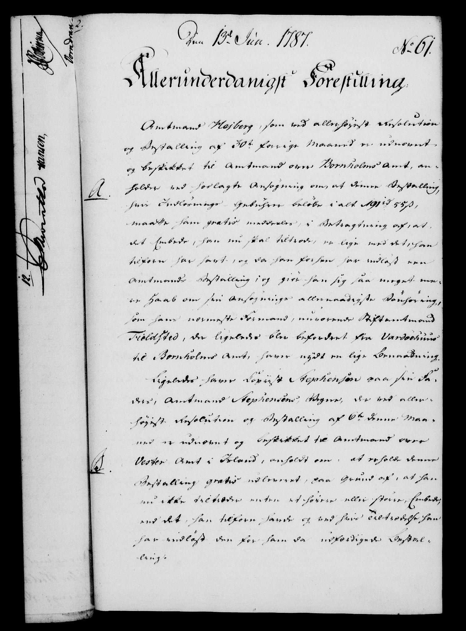RA, Rentekammeret, Kammerkanselliet, G/Gf/Gfa/L0069: Norsk relasjons- og resolusjonsprotokoll (merket RK 52.69), 1787, s. 456