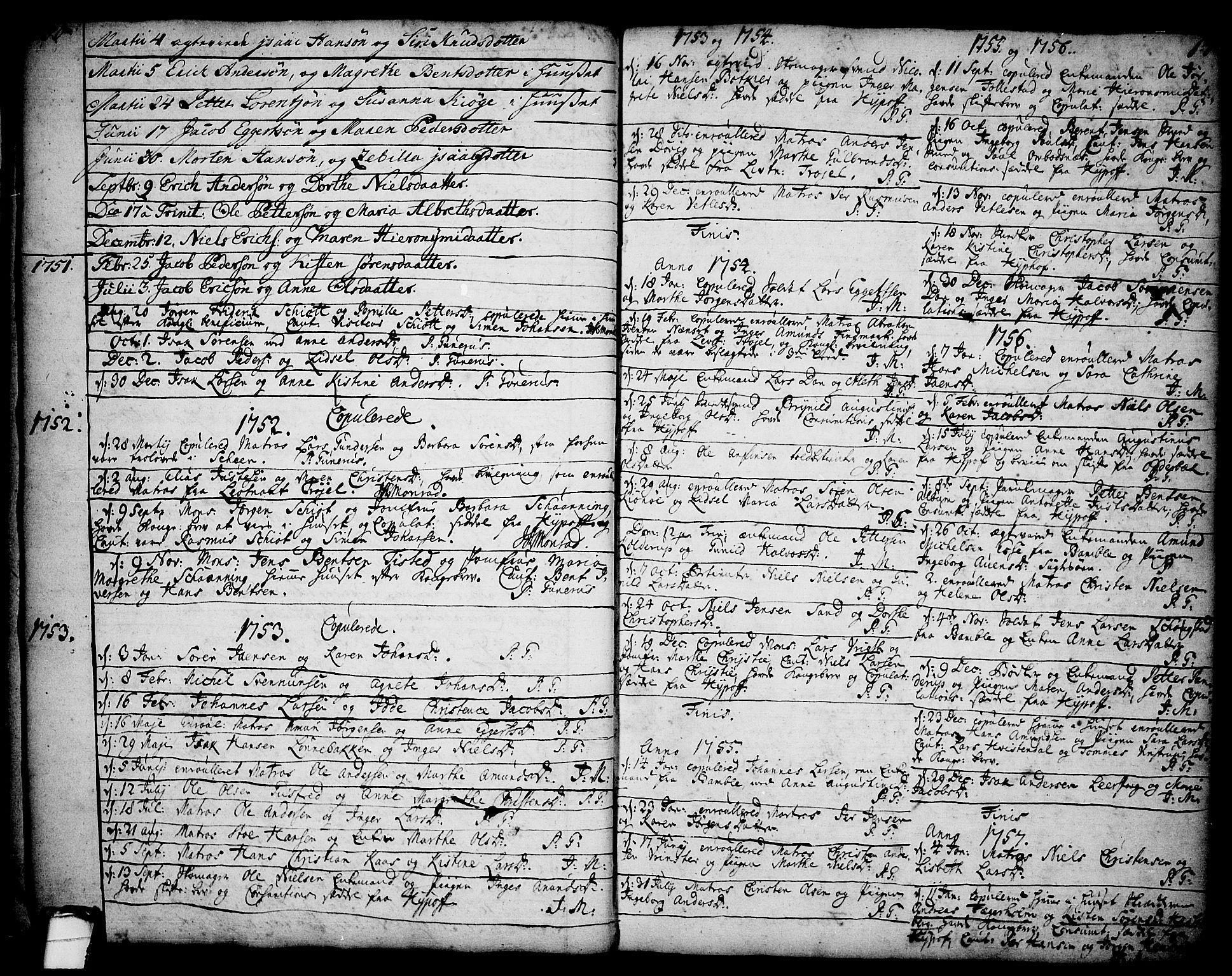 SAKO, Brevik kirkebøker, F/Fa/L0002: Ministerialbok nr. 2, 1720-1764, s. 17