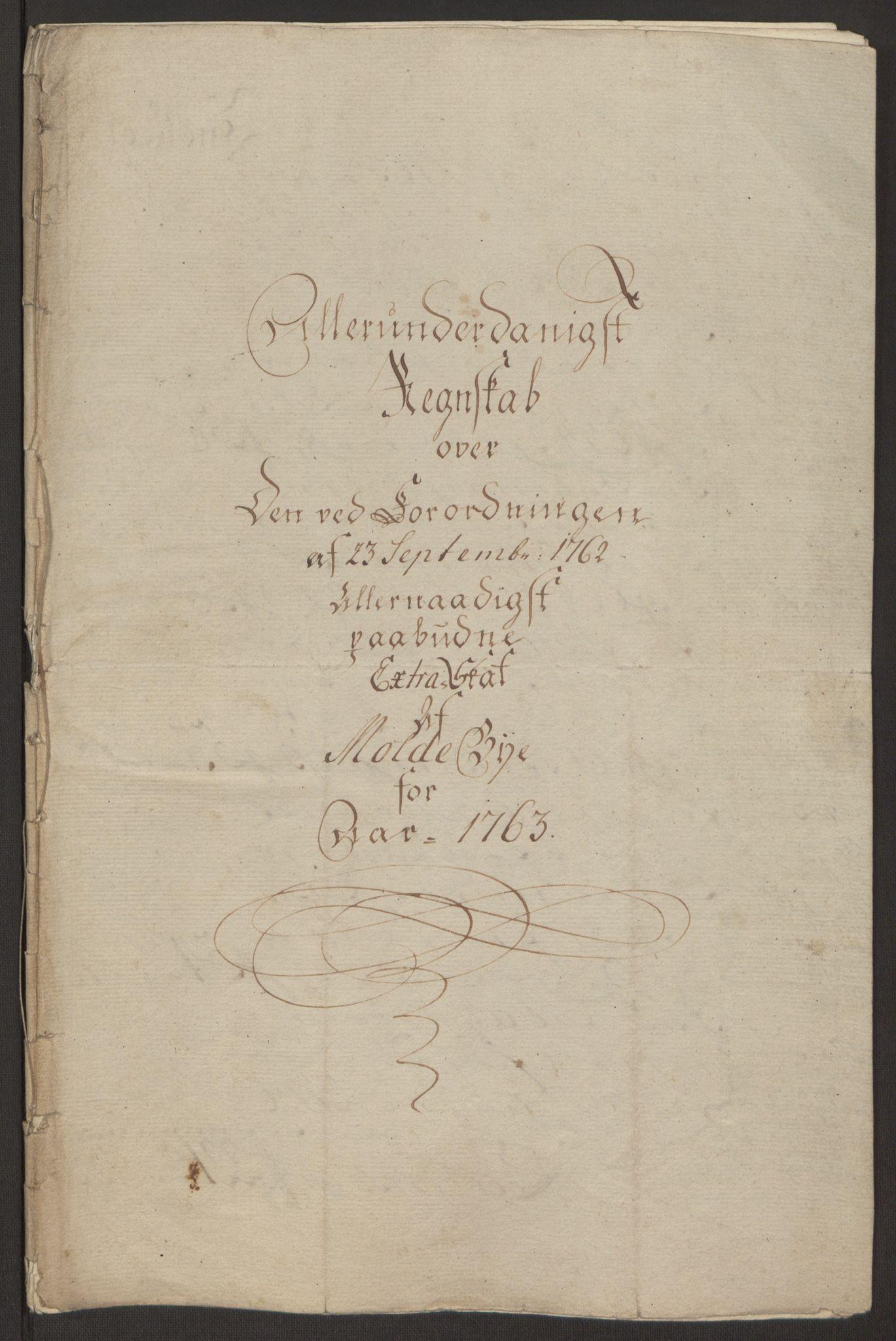 RA, Rentekammeret inntil 1814, Reviderte regnskaper, Byregnskaper, R/Rq/L0487: [Q1] Kontribusjonsregnskap, 1762-1772, s. 32