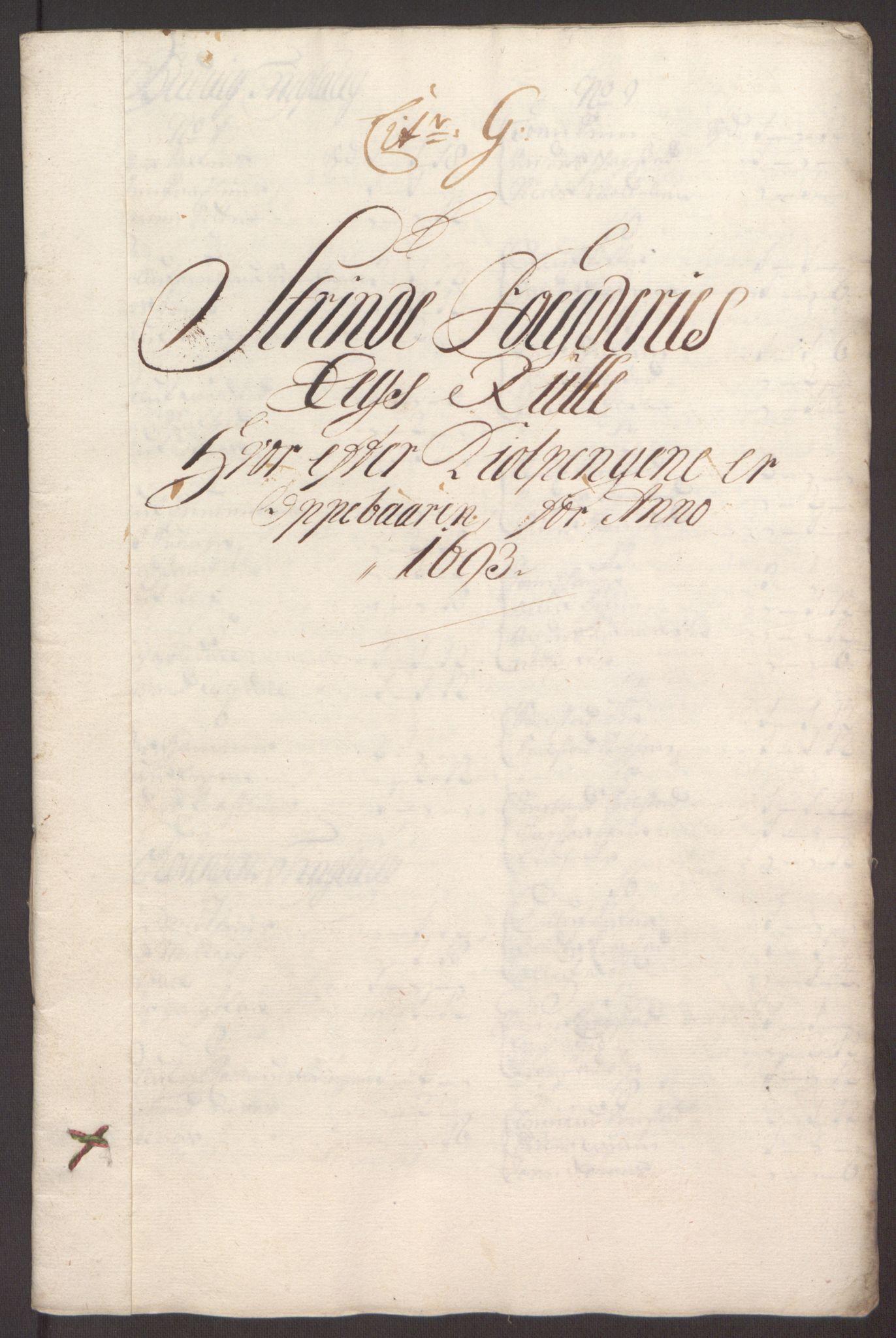 RA, Rentekammeret inntil 1814, Reviderte regnskaper, Fogderegnskap, R61/L4104: Fogderegnskap Strinda og Selbu, 1693-1694, s. 85