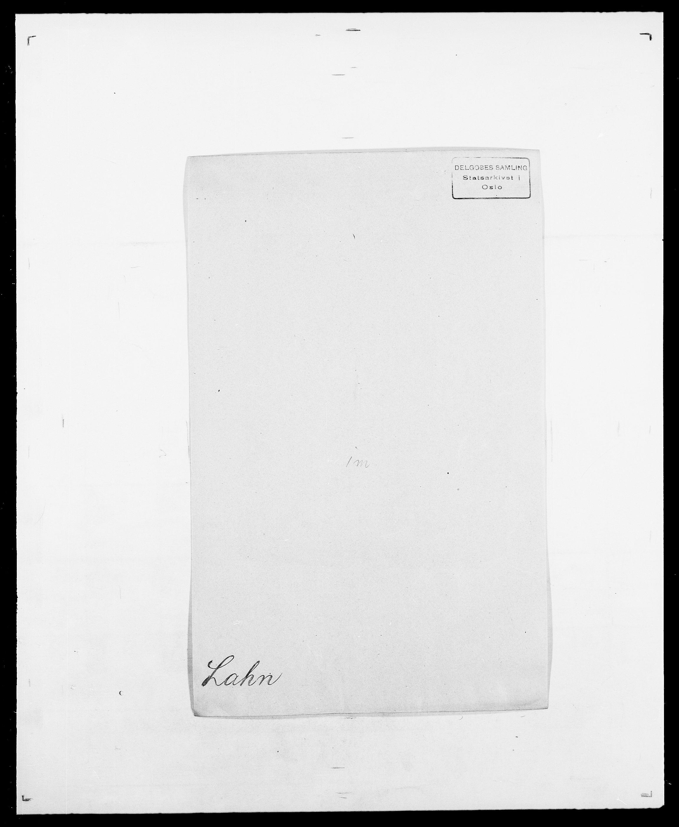 SAO, Delgobe, Charles Antoine - samling, D/Da/L0022: Krog - Lasteen, s. 400