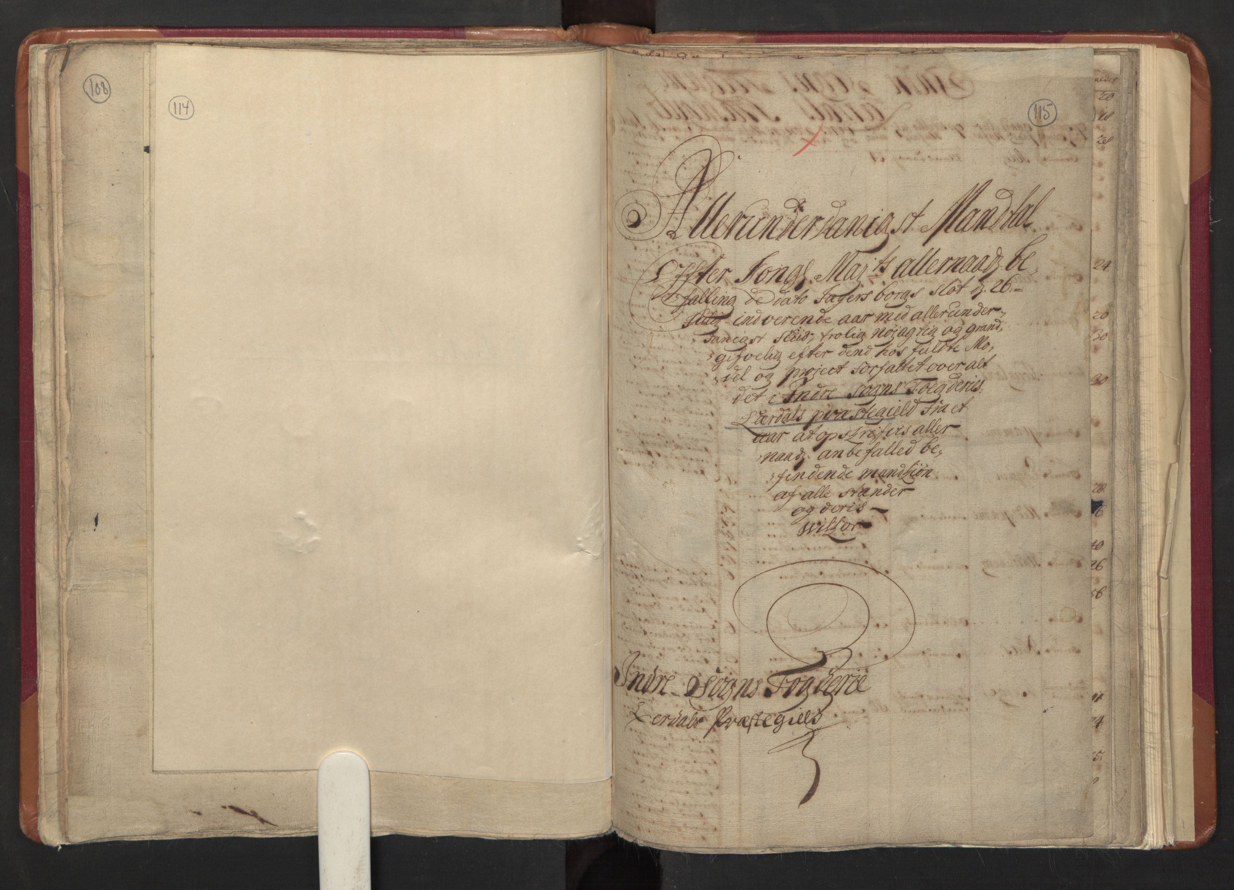 RA, Manntallet 1701, nr. 8: Ytre Sogn fogderi og Indre Sogn fogderi, 1701, s. 114-115