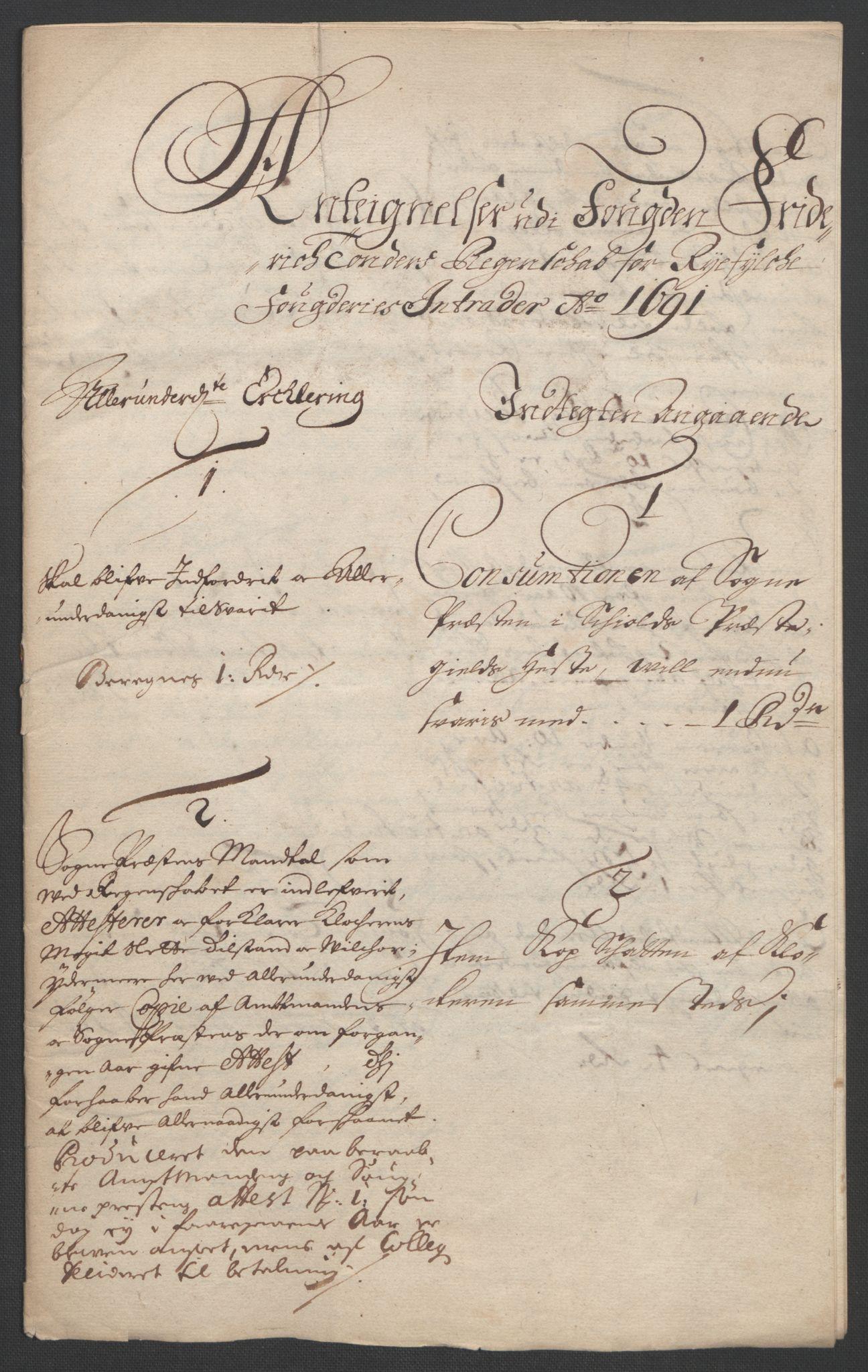 RA, Rentekammeret inntil 1814, Reviderte regnskaper, Fogderegnskap, R47/L2856: Fogderegnskap Ryfylke, 1689-1693, s. 419