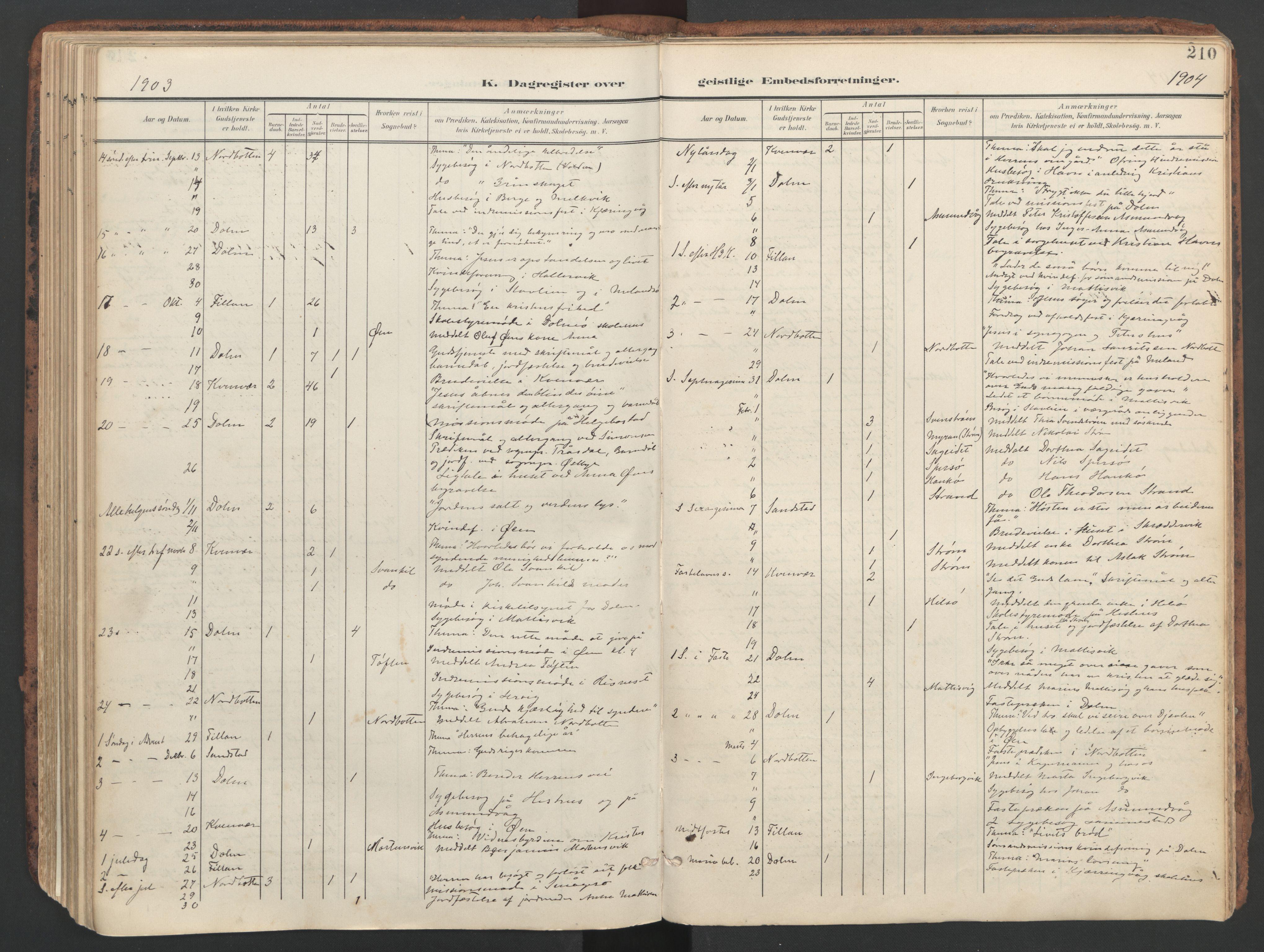 SAT, Ministerialprotokoller, klokkerbøker og fødselsregistre - Sør-Trøndelag, 634/L0537: Ministerialbok nr. 634A13, 1896-1922, s. 210