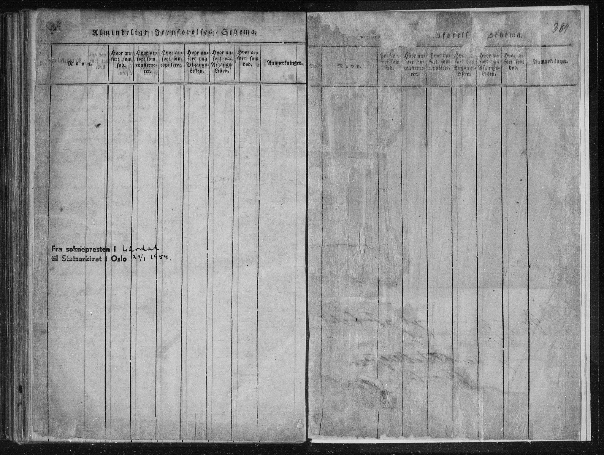 SAKO, Lårdal kirkebøker, F/Fc/L0001: Ministerialbok nr. III 1, 1815-1860, s. 384