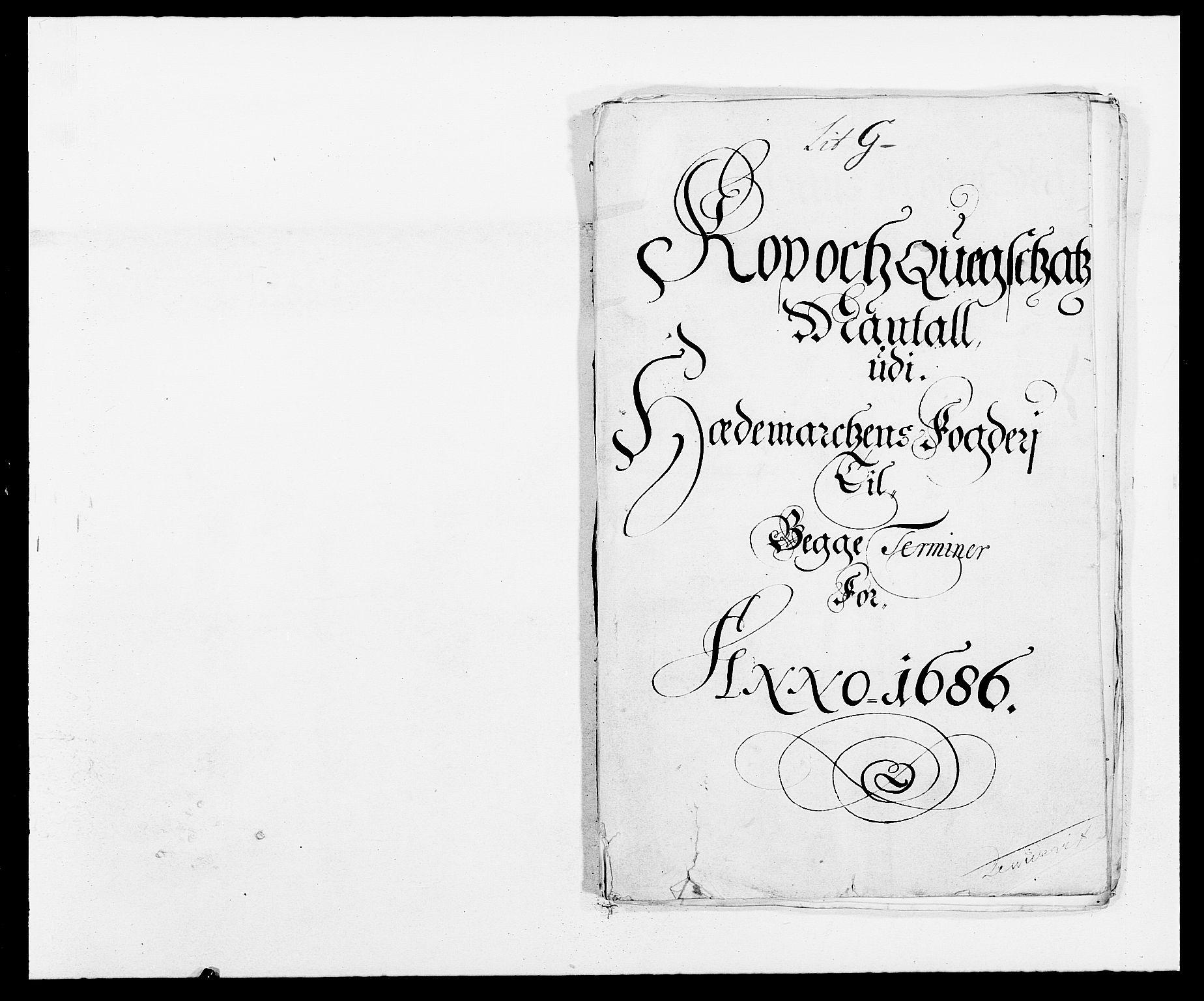 RA, Rentekammeret inntil 1814, Reviderte regnskaper, Fogderegnskap, R16/L1027: Fogderegnskap Hedmark, 1686, s. 318