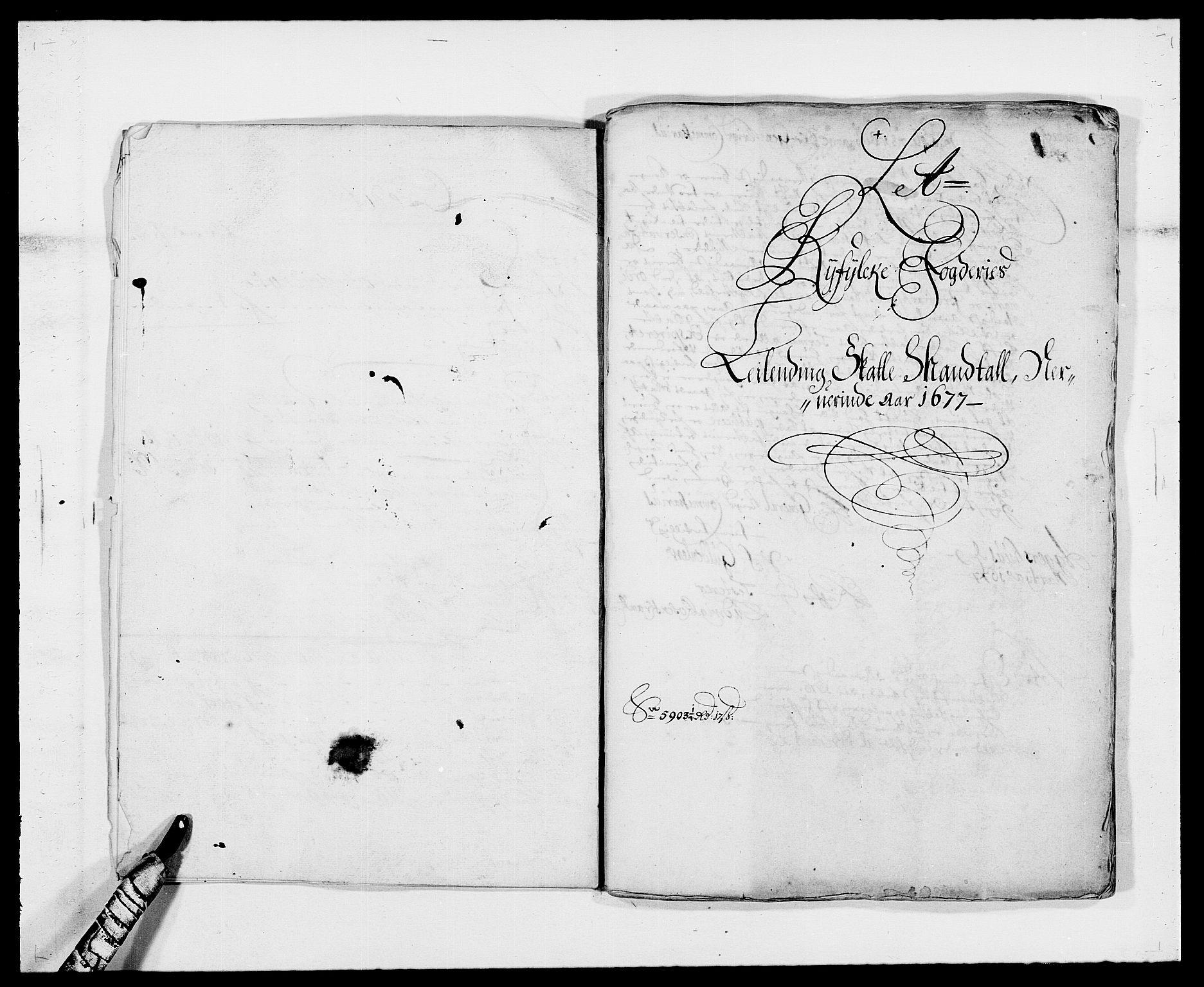 RA, Rentekammeret inntil 1814, Reviderte regnskaper, Fogderegnskap, R47/L2847: Fogderegnskap Ryfylke, 1677, s. 12