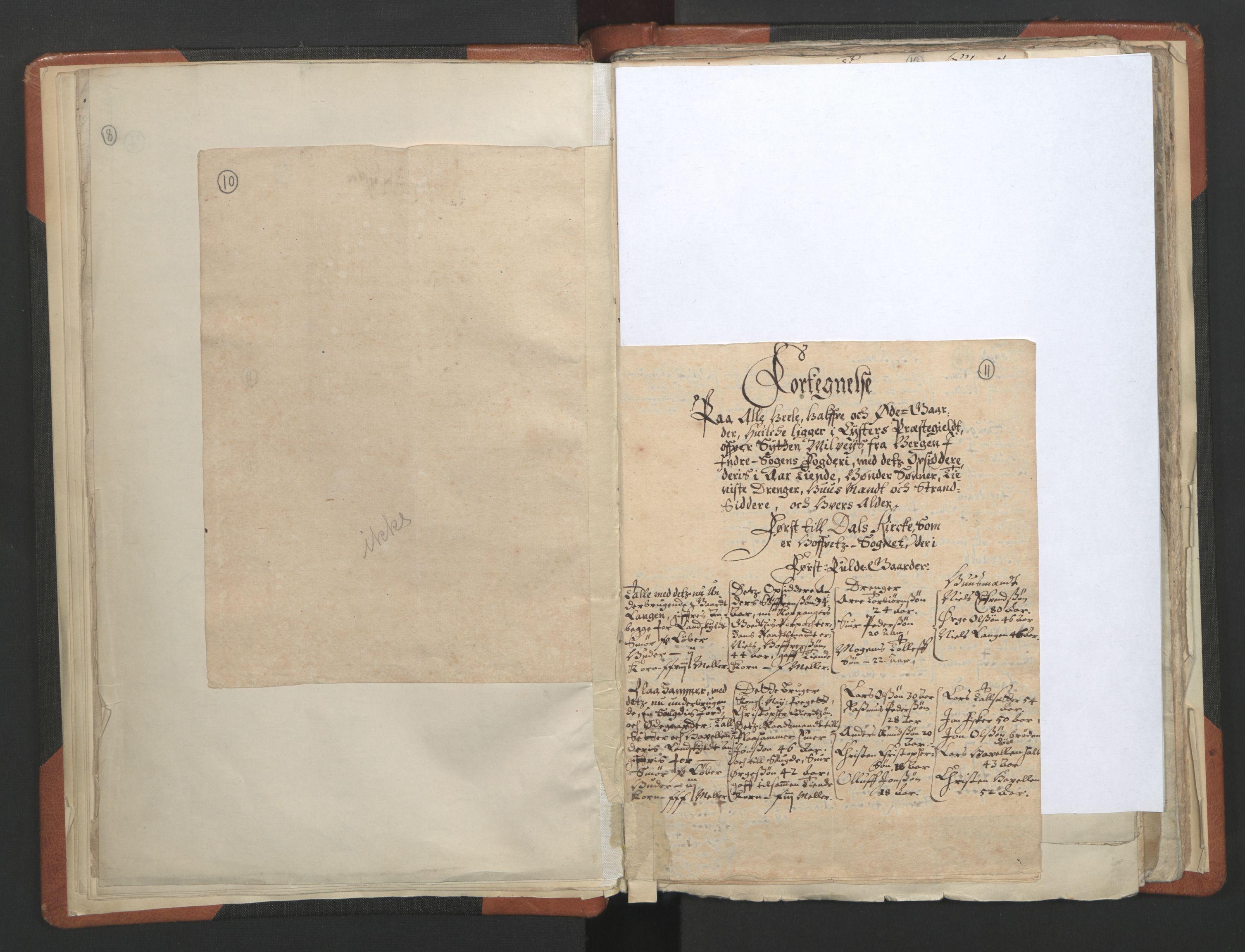 RA, Sogneprestenes manntall 1664-1666, nr. 23: Sogn prosti, 1664-1666, s. 10-11