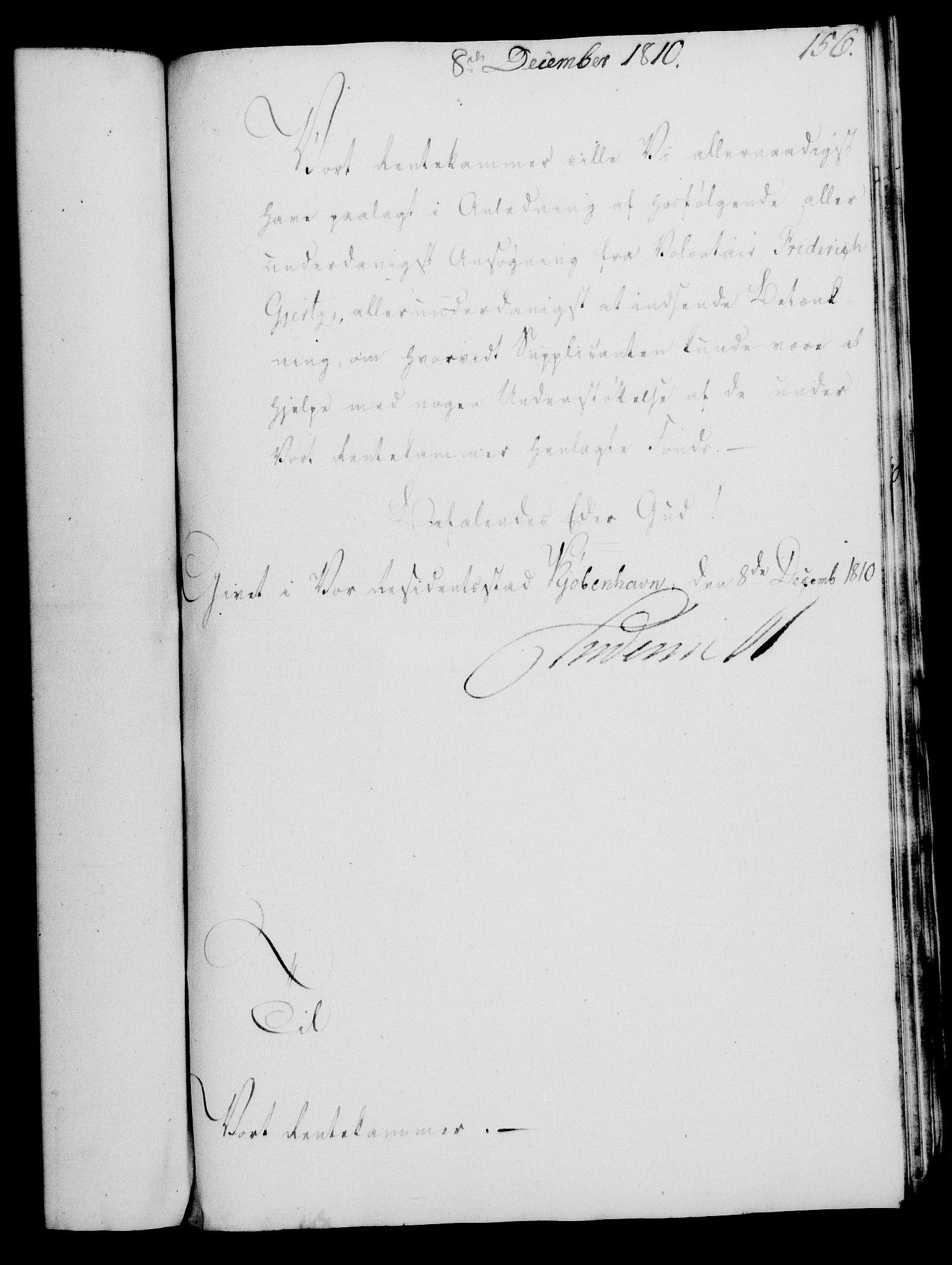 RA, Rentekammeret, Kammerkanselliet, G/Gf/Gfa/L0092: Norsk relasjons- og resolusjonsprotokoll (merket RK 52.92), 1810, s. 588