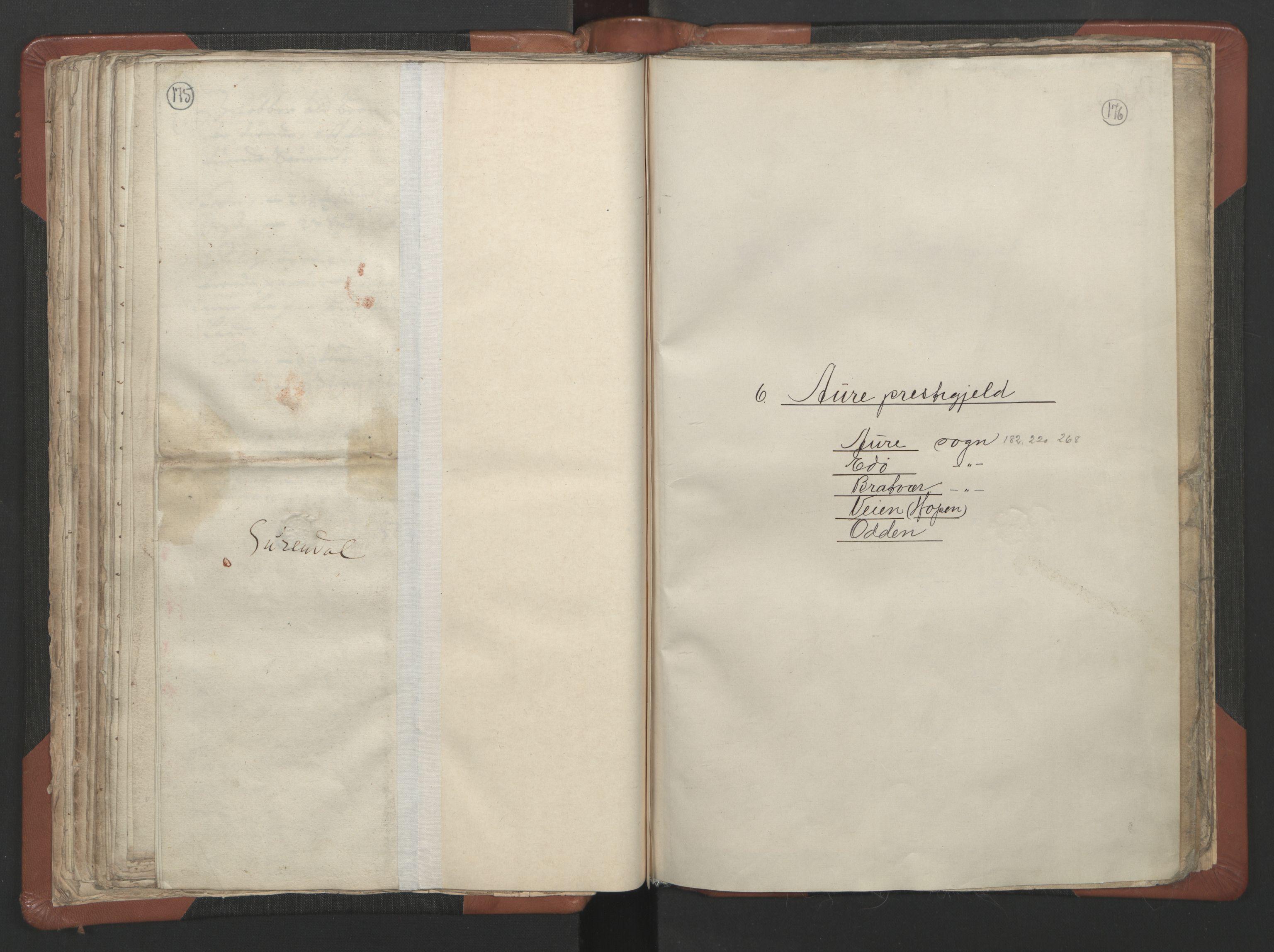 RA, Sogneprestenes manntall 1664-1666, nr. 29: Nordmøre prosti, 1664-1666, s. 175-176