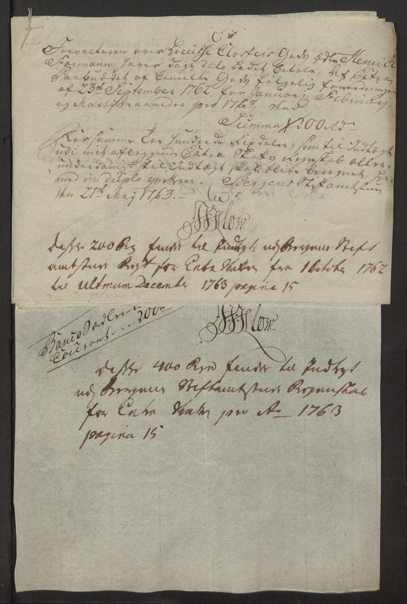 RA, Rentekammeret inntil 1814, Reviderte regnskaper, Fogderegnskap, R50/L3180: Ekstraskatten Lyse kloster, 1762-1783, s. 70