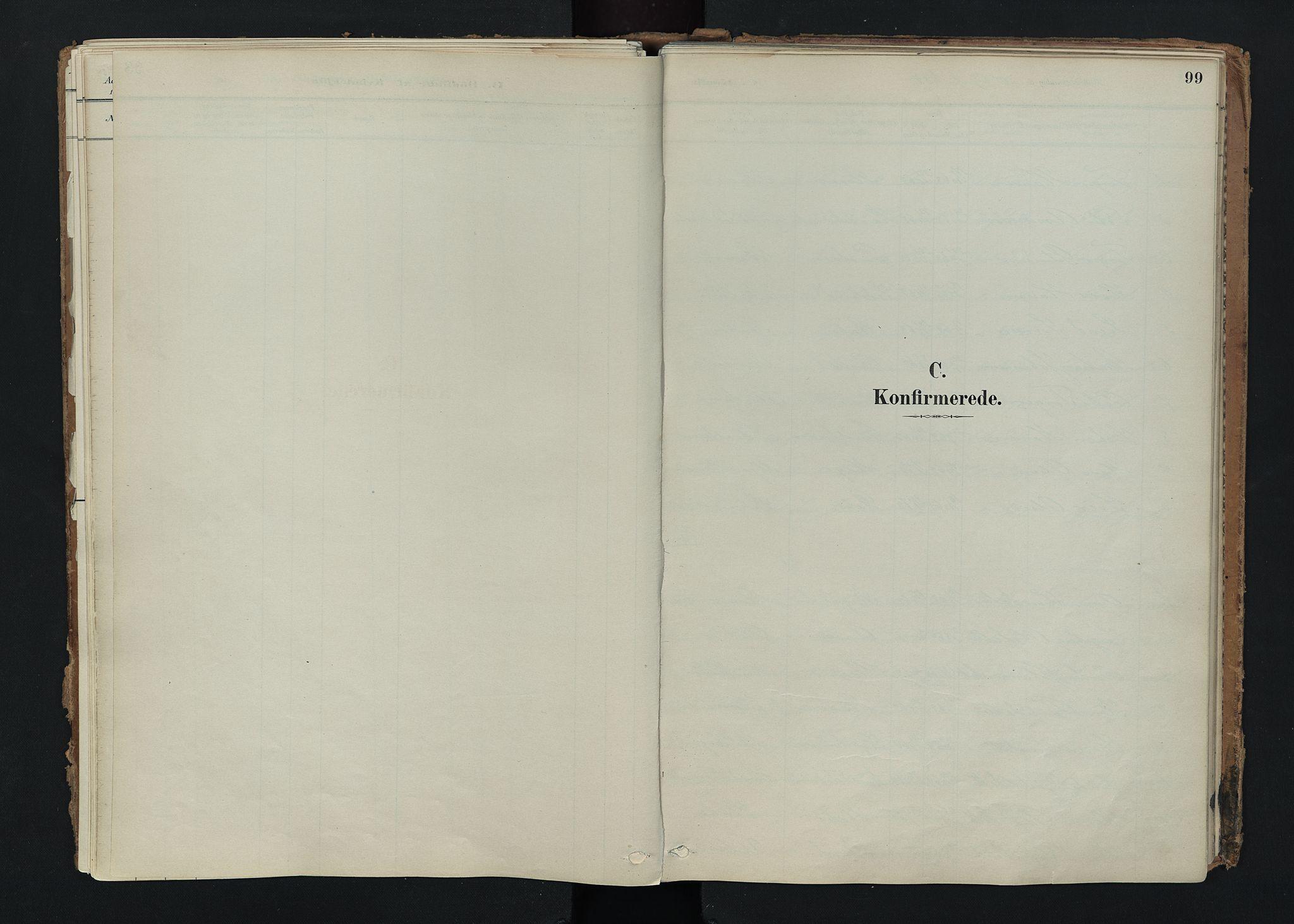 SAH, Nord-Fron prestekontor, Ministerialbok nr. 5, 1884-1914, s. 99