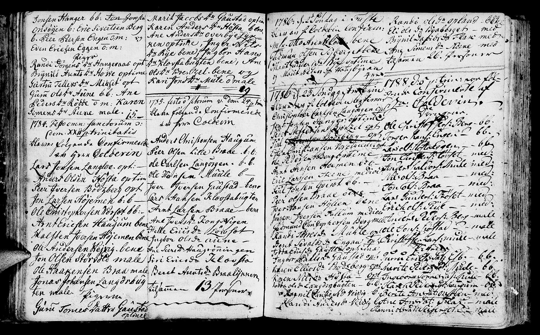 SAT, Ministerialprotokoller, klokkerbøker og fødselsregistre - Sør-Trøndelag, 612/L0370: Ministerialbok nr. 612A04, 1754-1802, s. 84