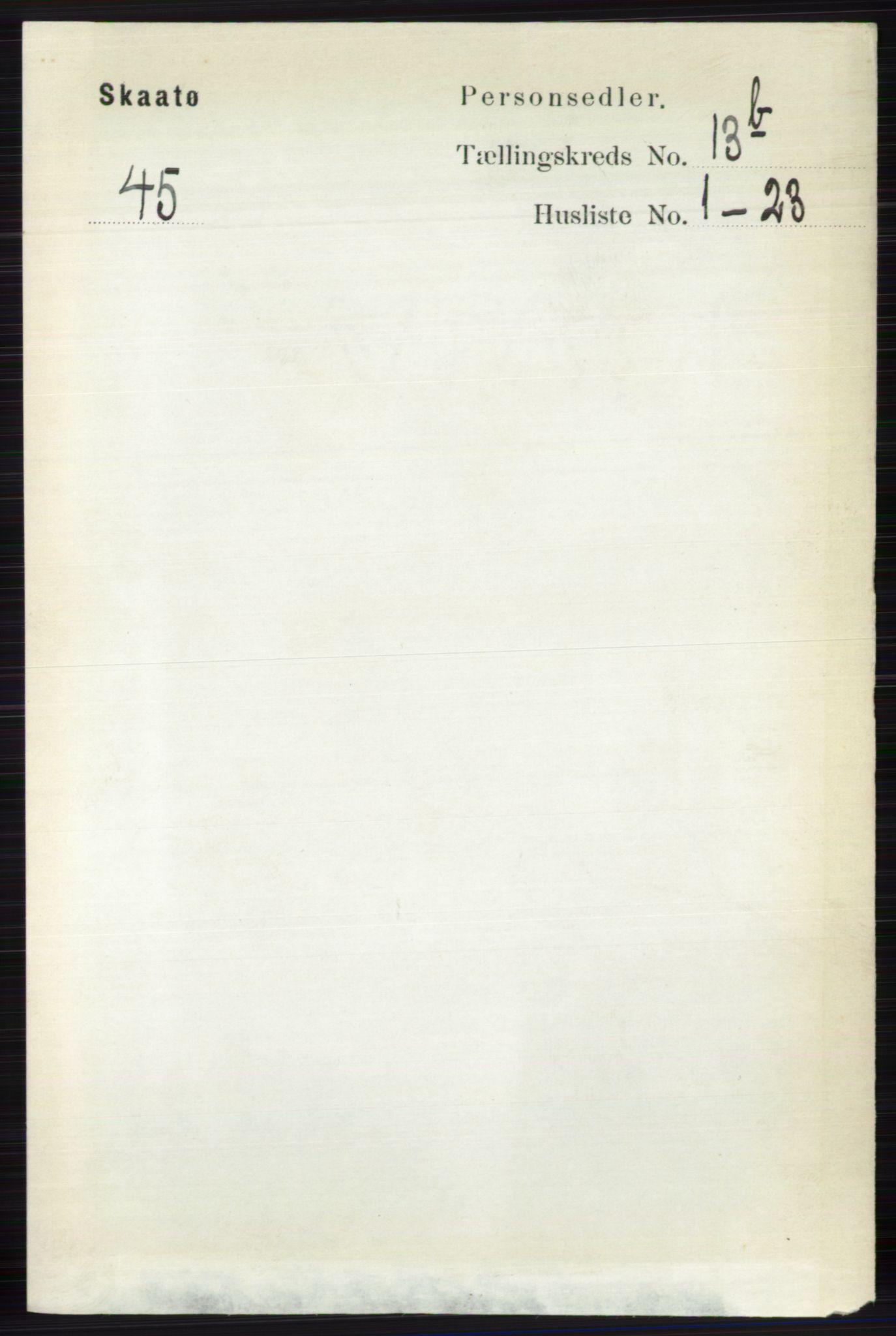 RA, Folketelling 1891 for 0815 Skåtøy herred, 1891, s. 4838